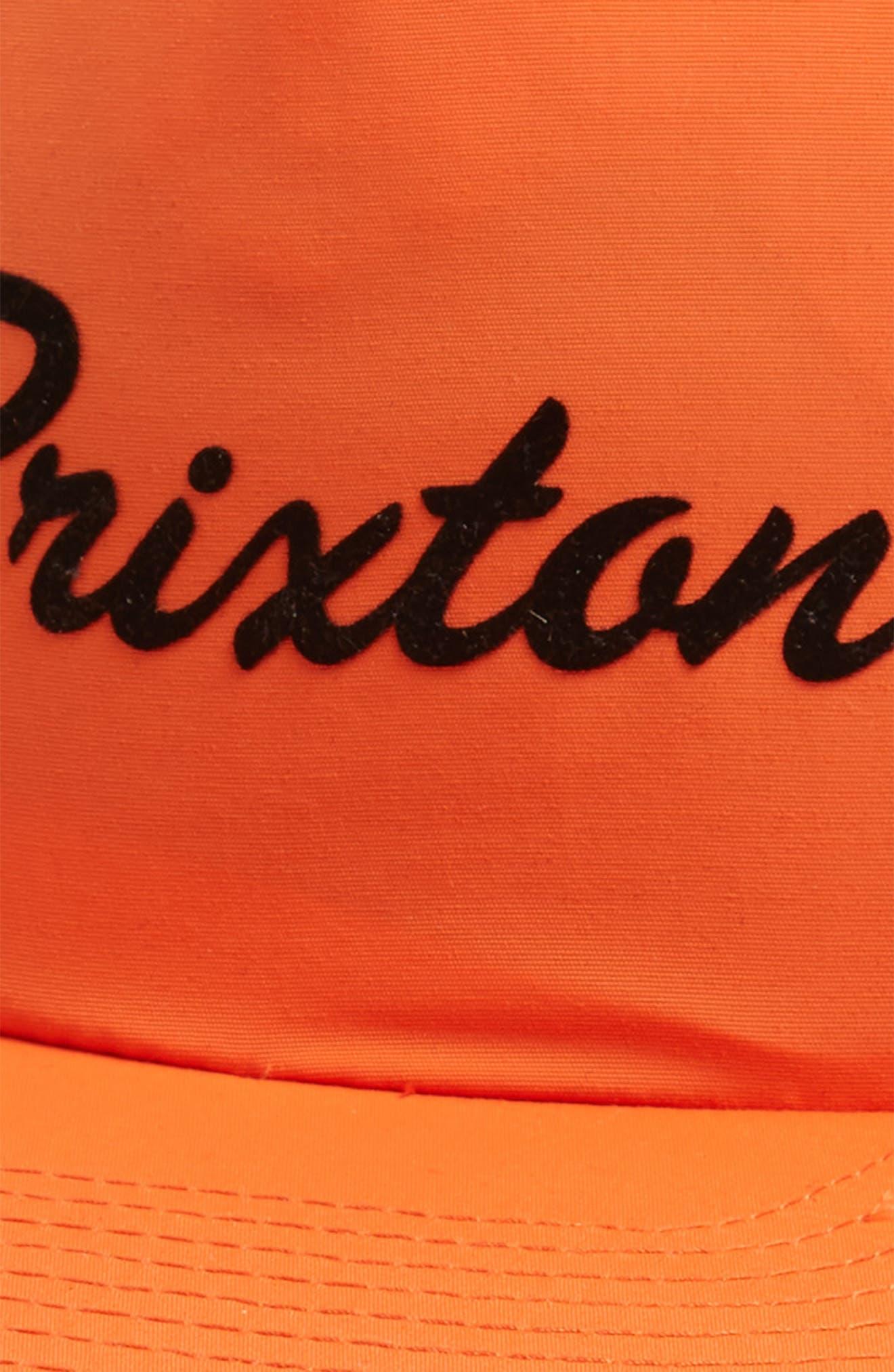 Blaine Ball Cap,                             Alternate thumbnail 3, color,                             Orange