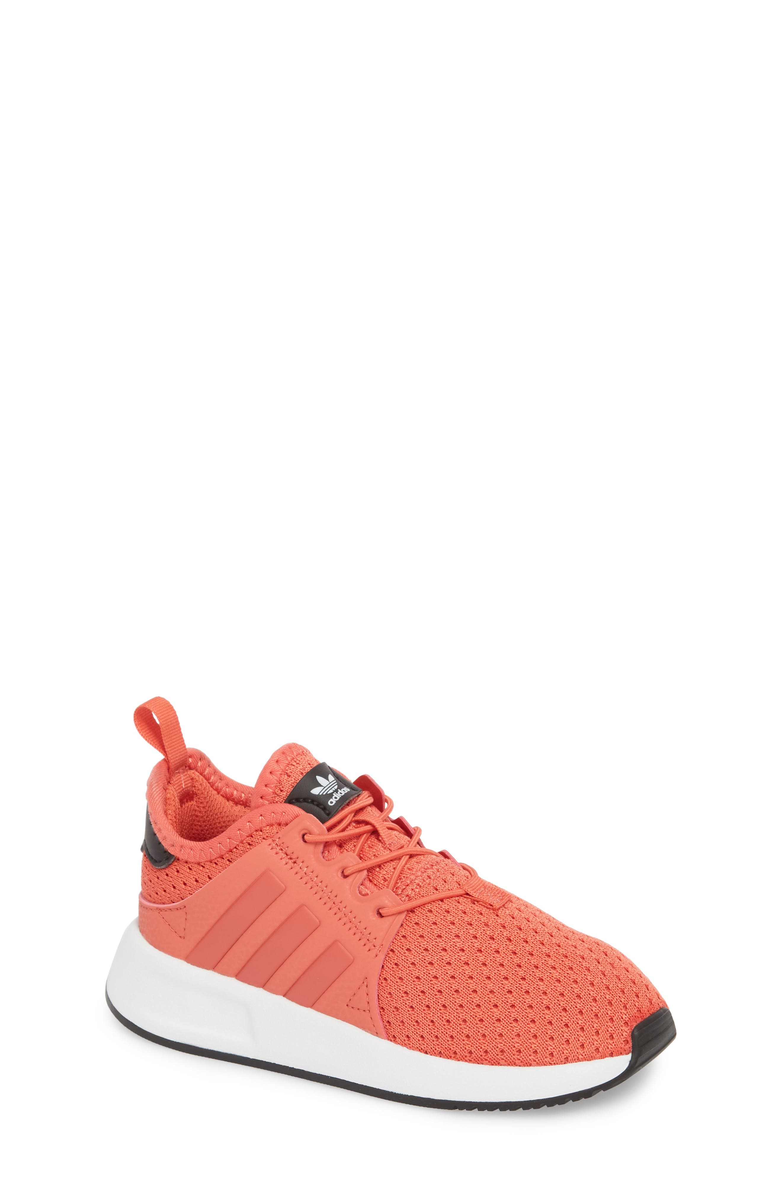 X_PLR Sneaker,                         Main,                         color, Trace Scarlet/ White