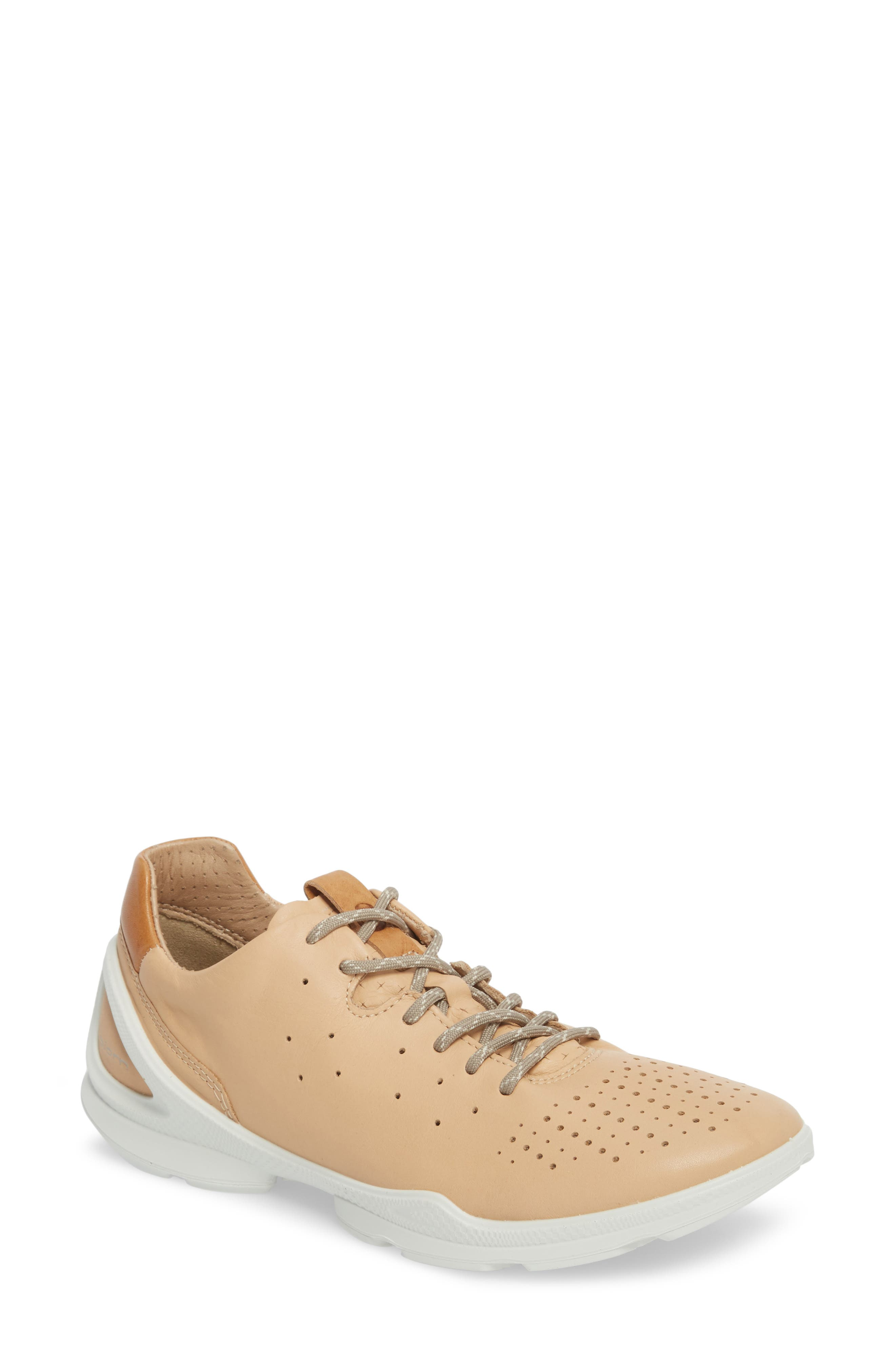 Biom Street Sneaker,                             Main thumbnail 1, color,                             Powder Leather