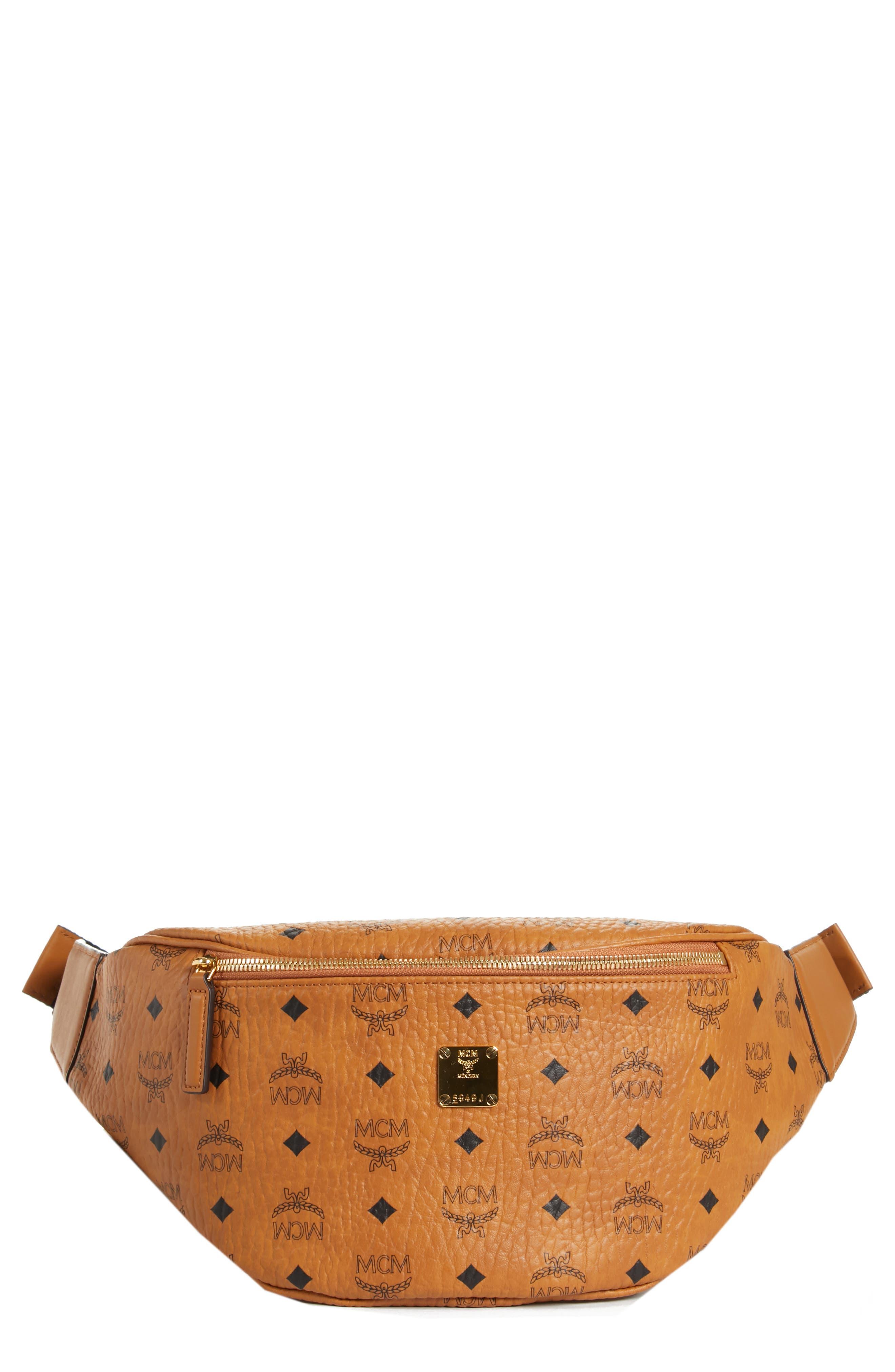 Medium Stark Belt Bag,                             Main thumbnail 1, color,                             Cognac Co
