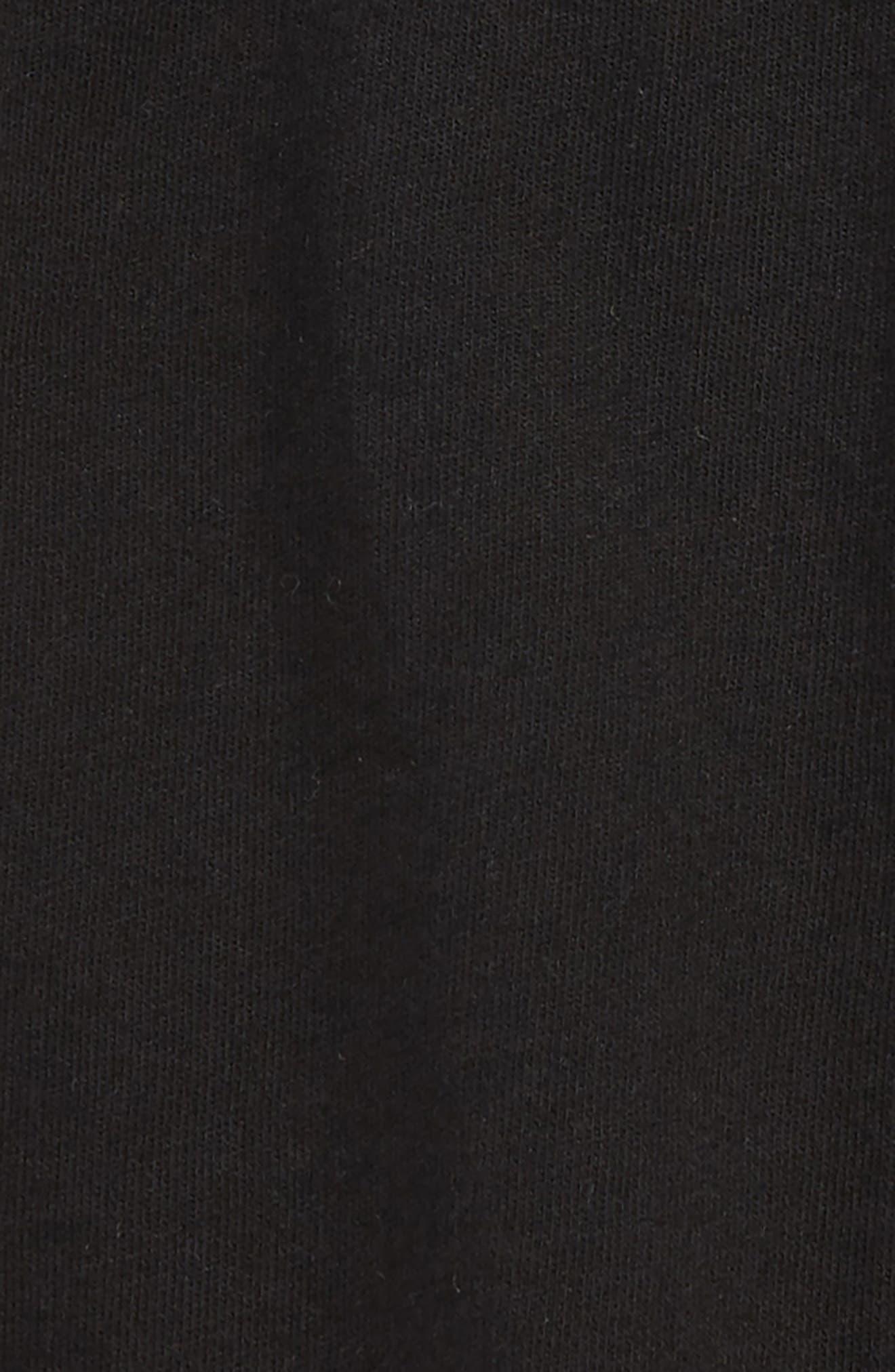 Knit Shorts,                             Alternate thumbnail 2, color,                             Black