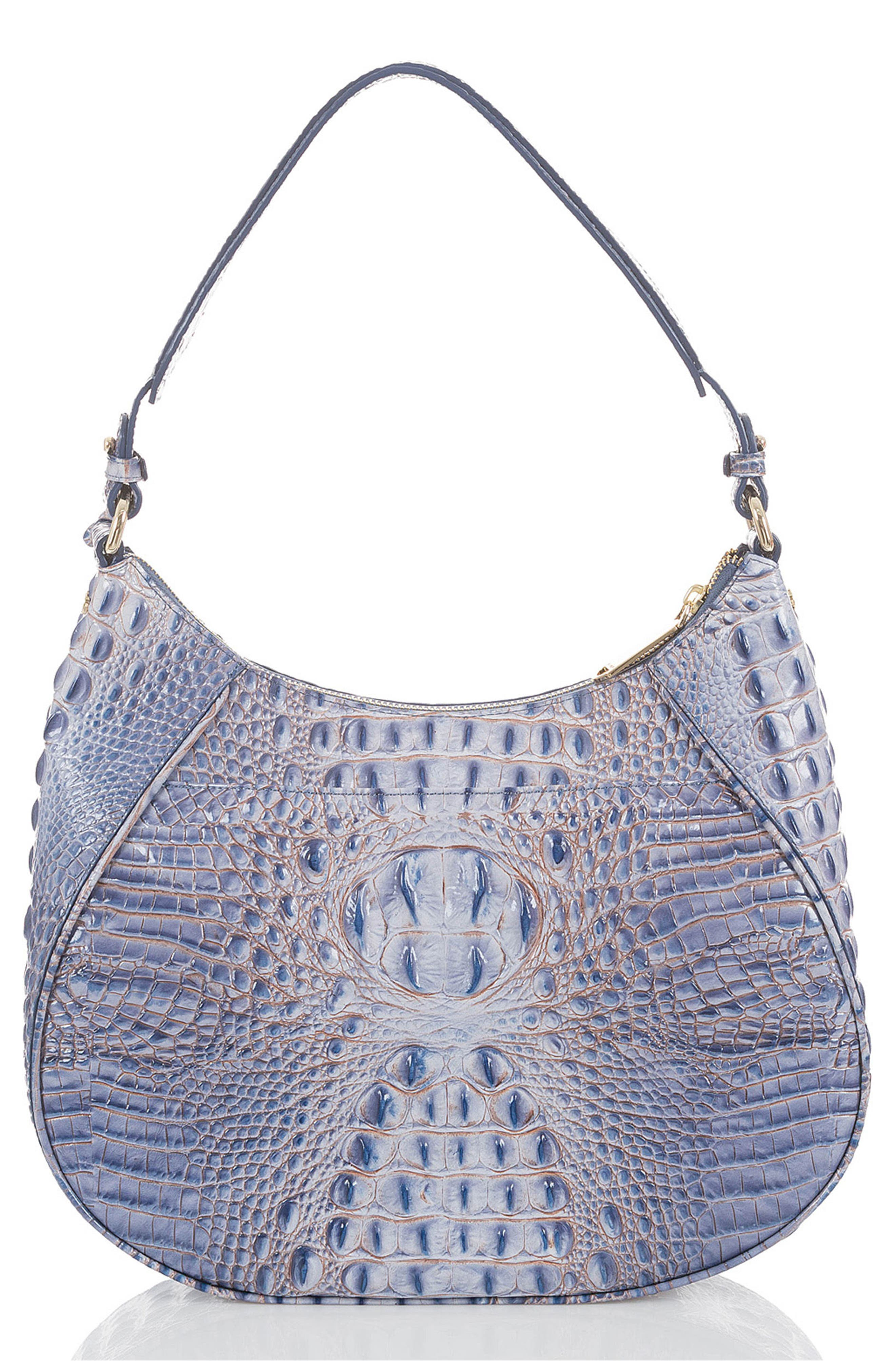 Melbourne Amira Shoulder Bag,                             Alternate thumbnail 2, color,                             Washed Indigo