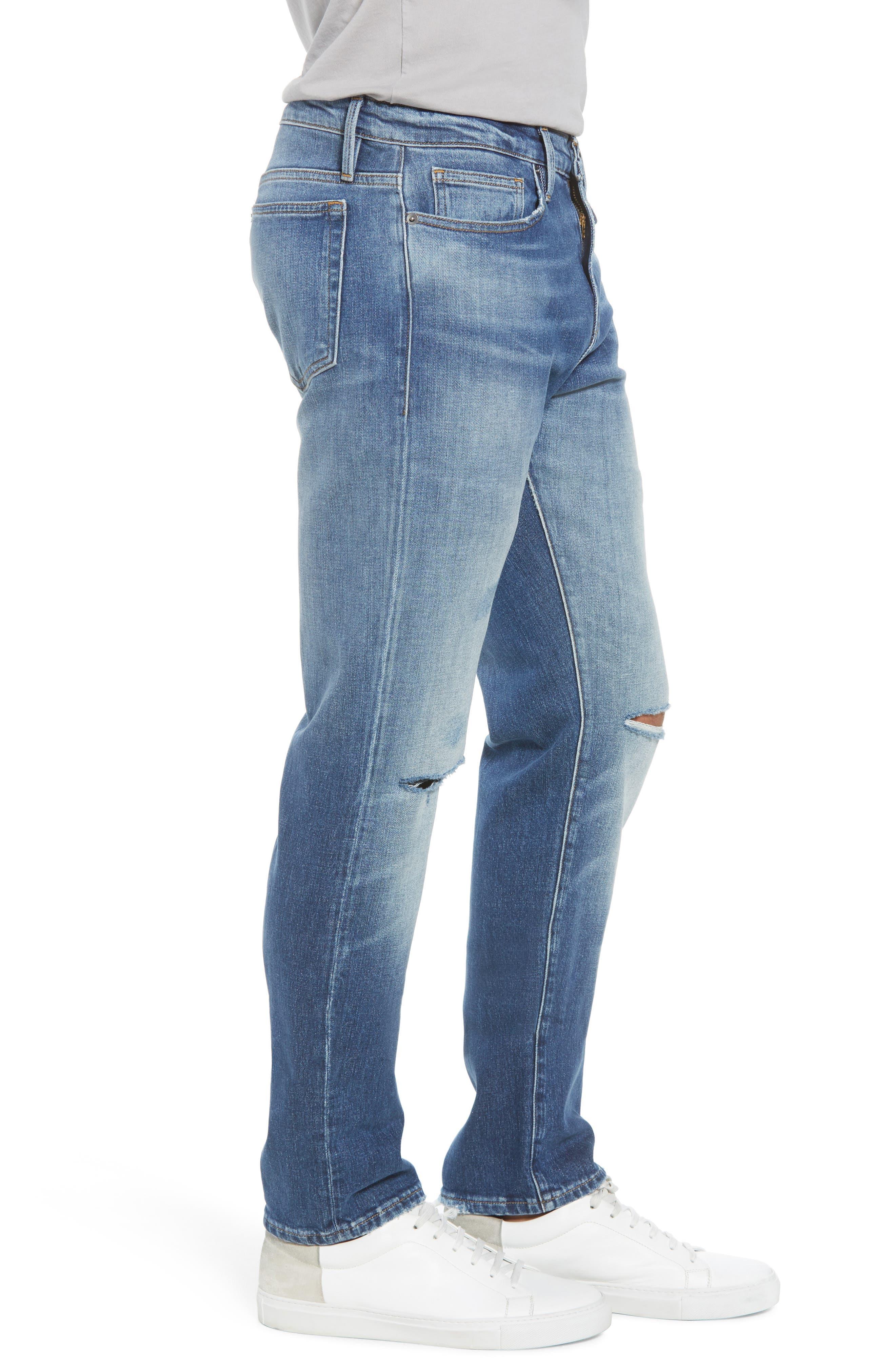 L'Homme Slim Fit Jeans,                             Alternate thumbnail 3, color,                             Yucca