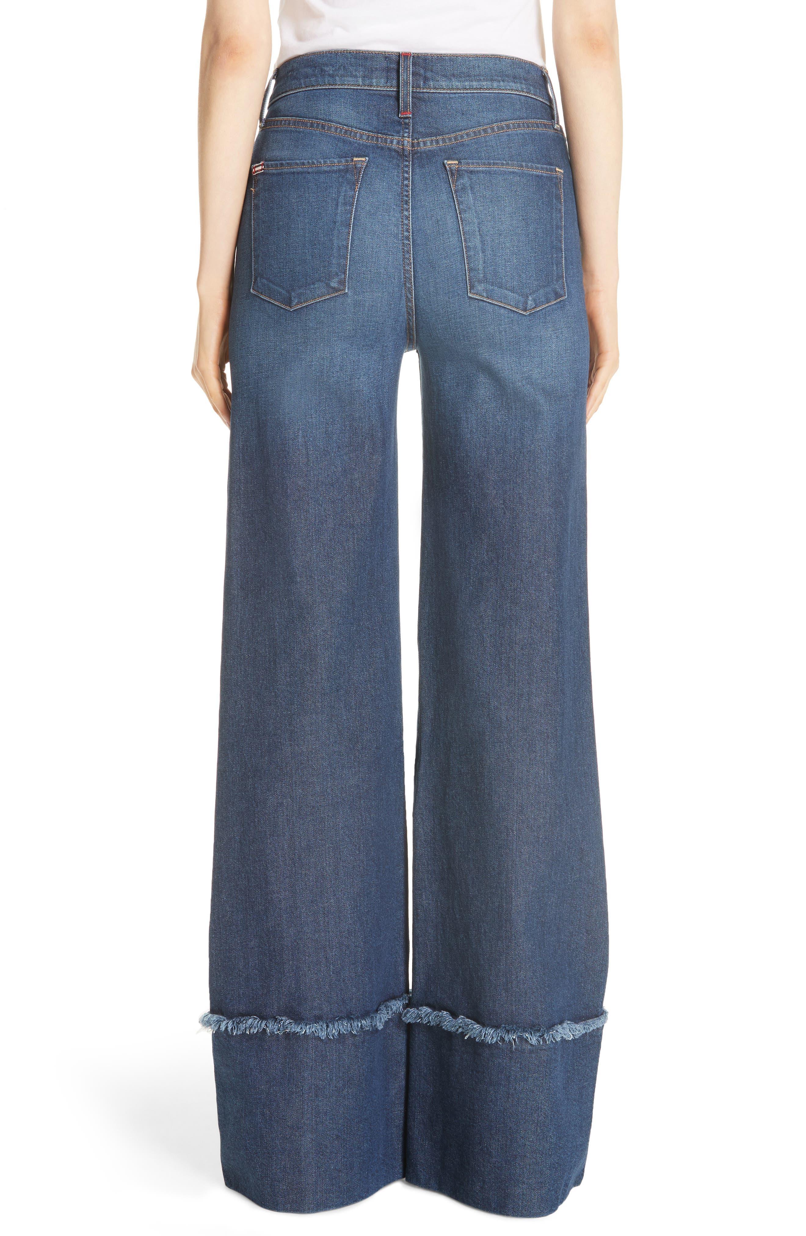 Gorgeous Flare Leg Jeans,                             Alternate thumbnail 2, color,                             So Clever