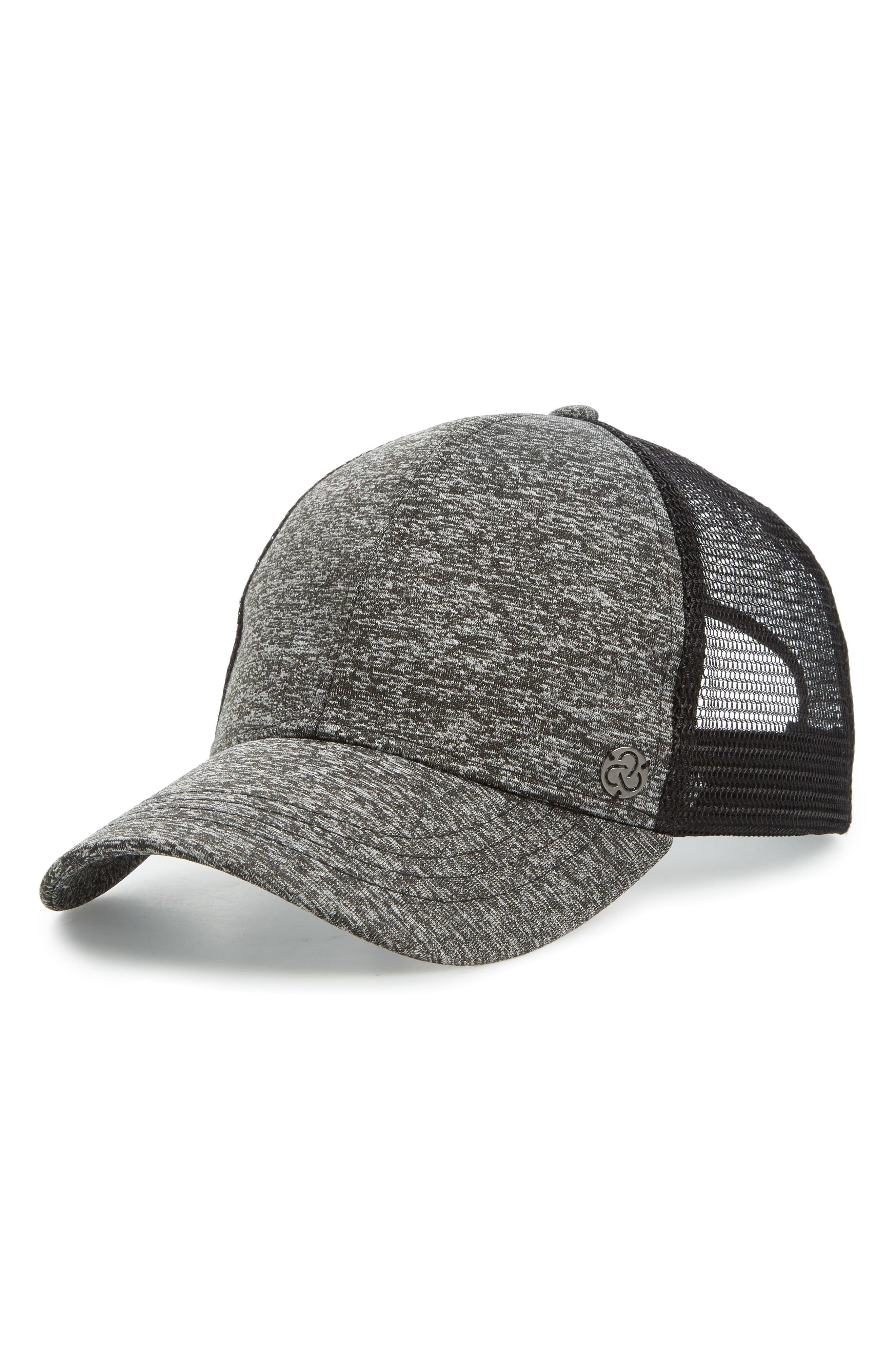 Baseball Hat,                             Main thumbnail 1, color,                             Black