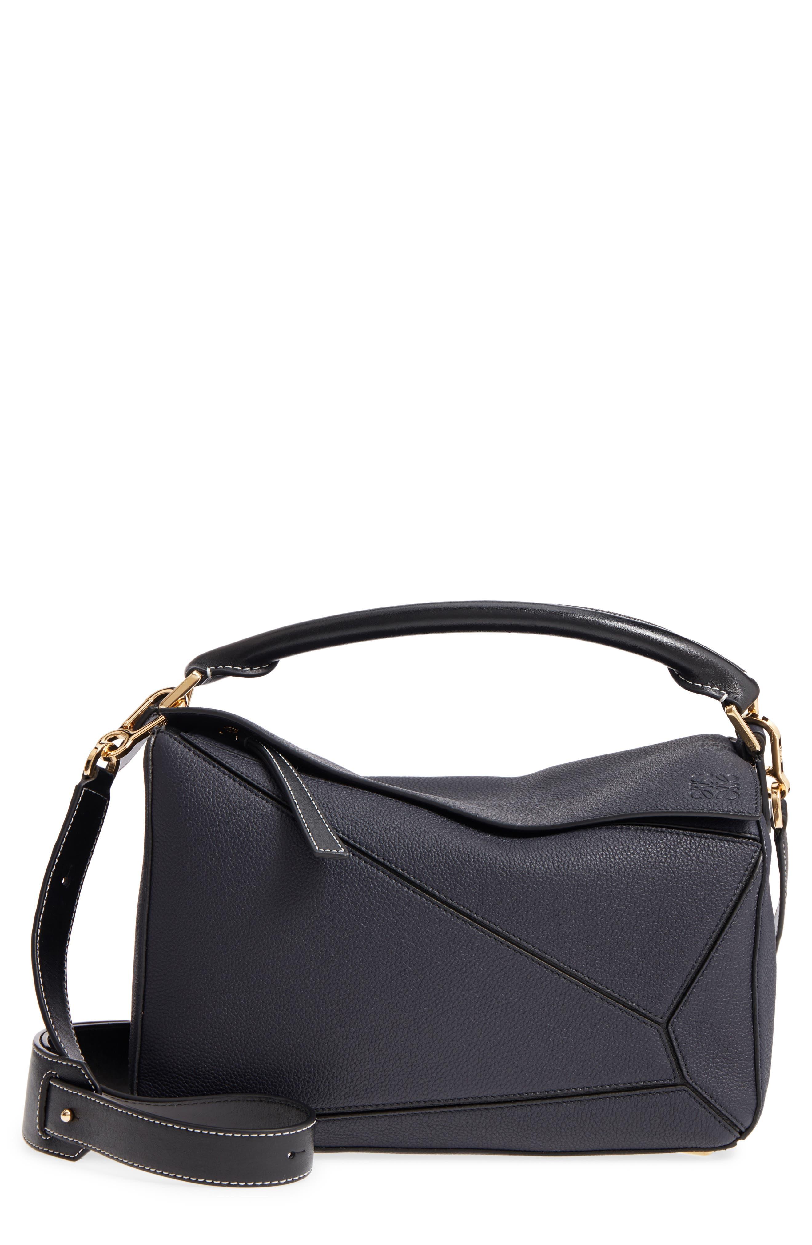 Loewe Medium Puzzle Leather Shoulder Bag
