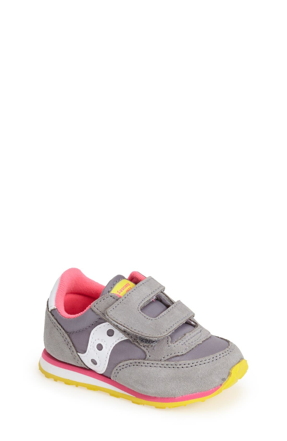 Main Image - Saucony 'Jazz' Hook & Loop Sneaker (Baby, Walker & Toddler)