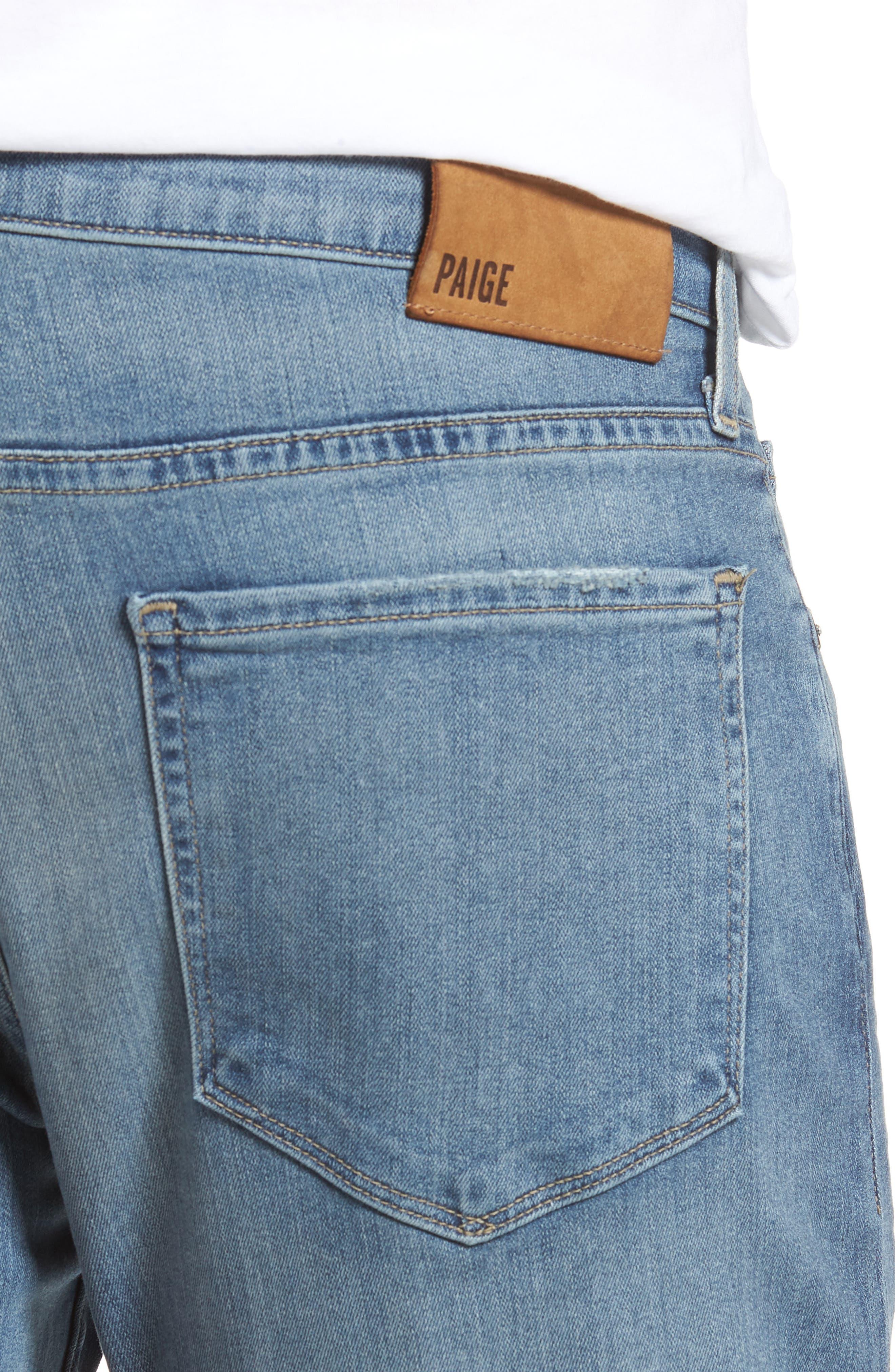 Transcend - Lennox Slim Fit Jeans,                             Alternate thumbnail 4, color,                             Allman