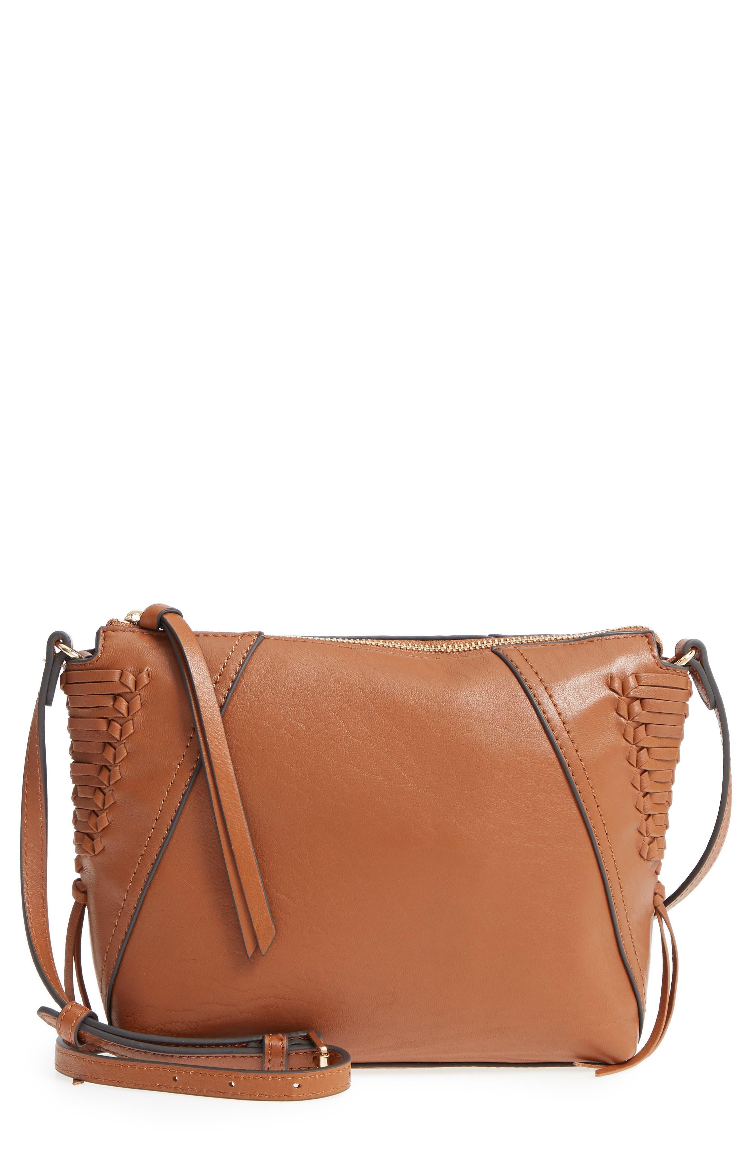 Vince Camuto Ilda Leather Crossbody Bag