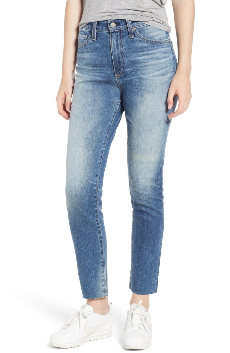 Sophia High Waist Ankle Skinny Jeans