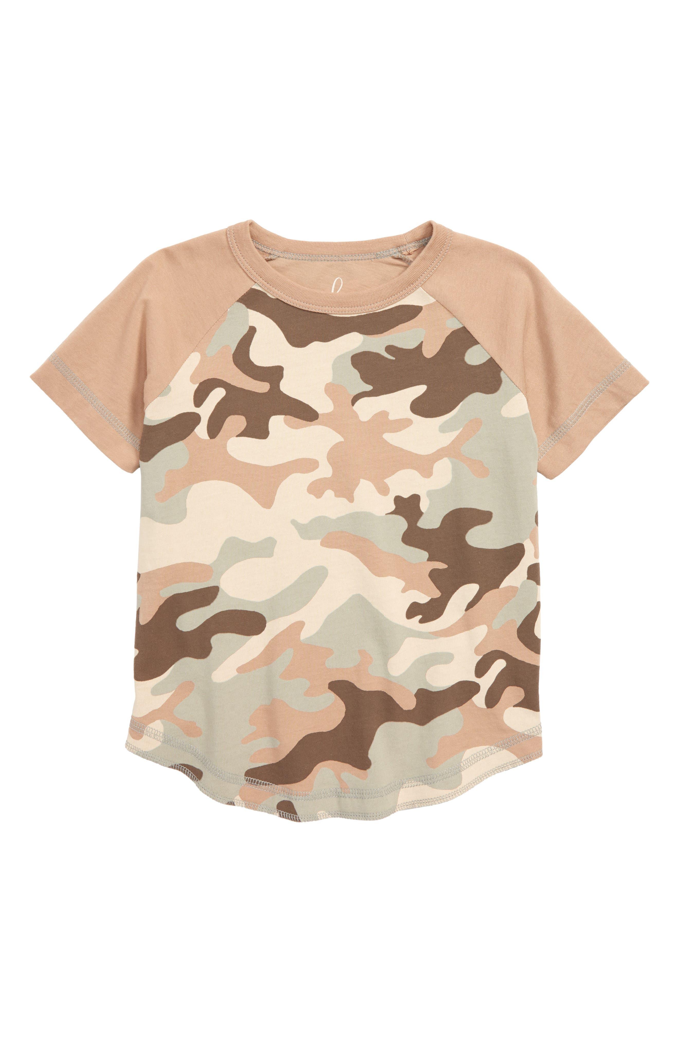 Camo T-Shirt,                         Main,                         color, Taupe