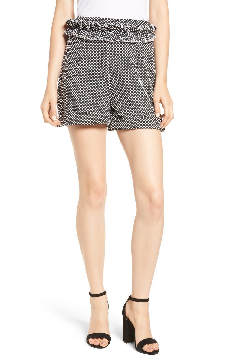 Textured Dot Shorts