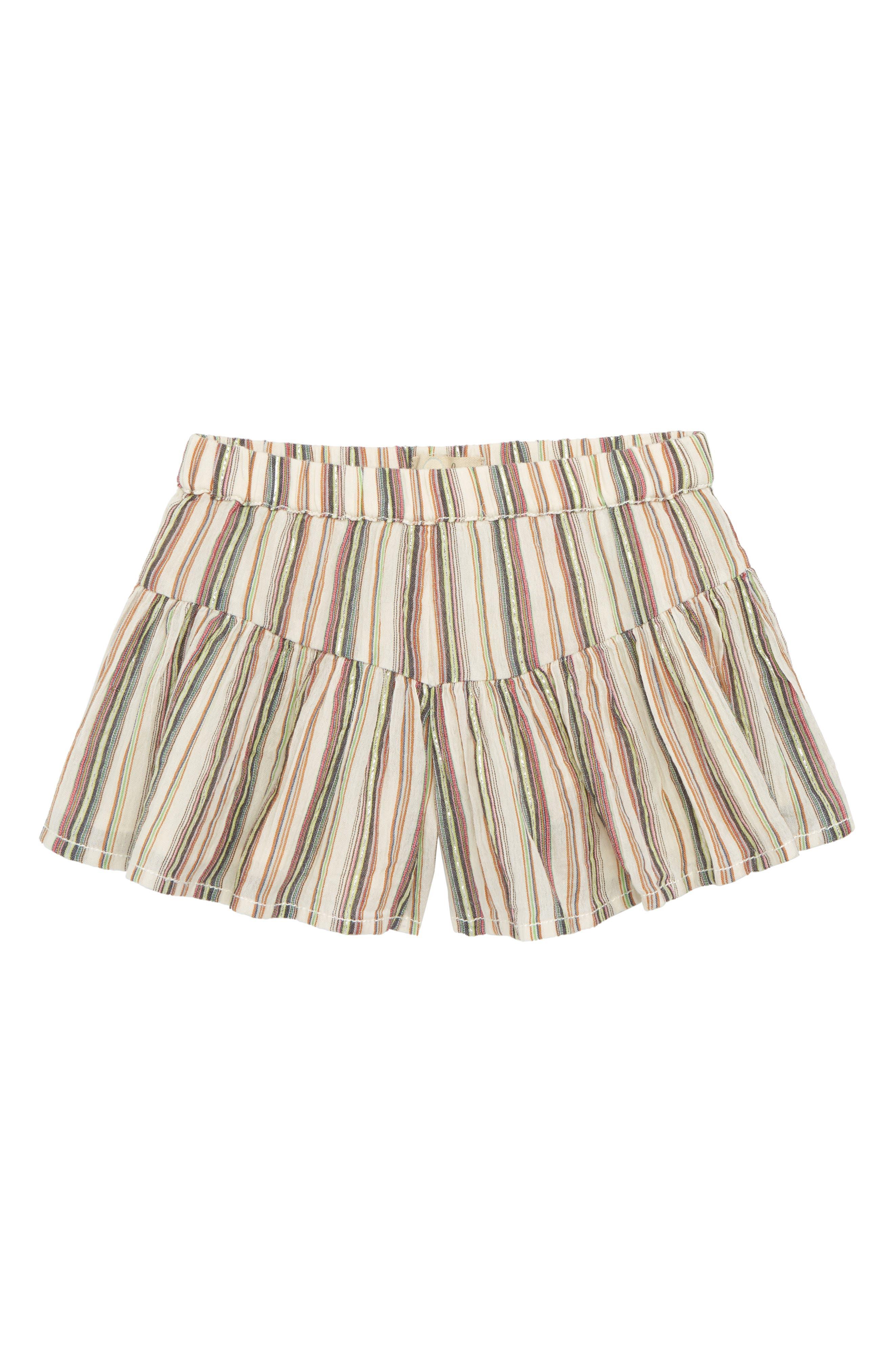 Nora Woven Shorts,                         Main,                         color, Ivory
