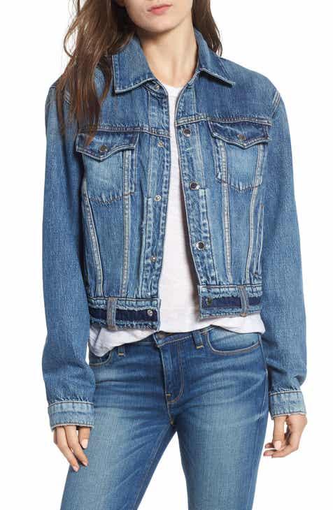 Hudson Jeans Crop Denim Jacket