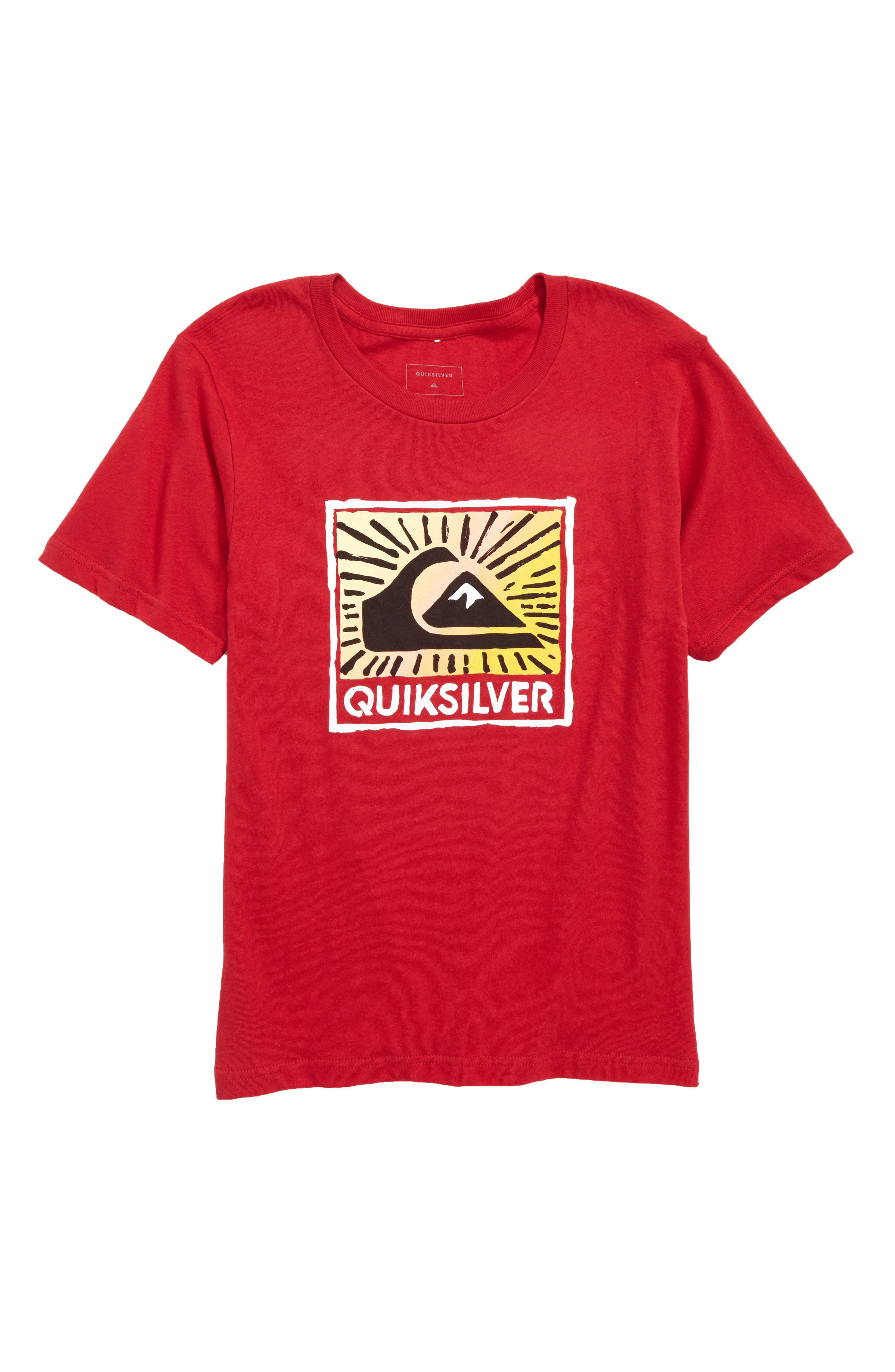 Under The Sun Graphic T-Shirt,                         Main,                         color, Chili Pepper