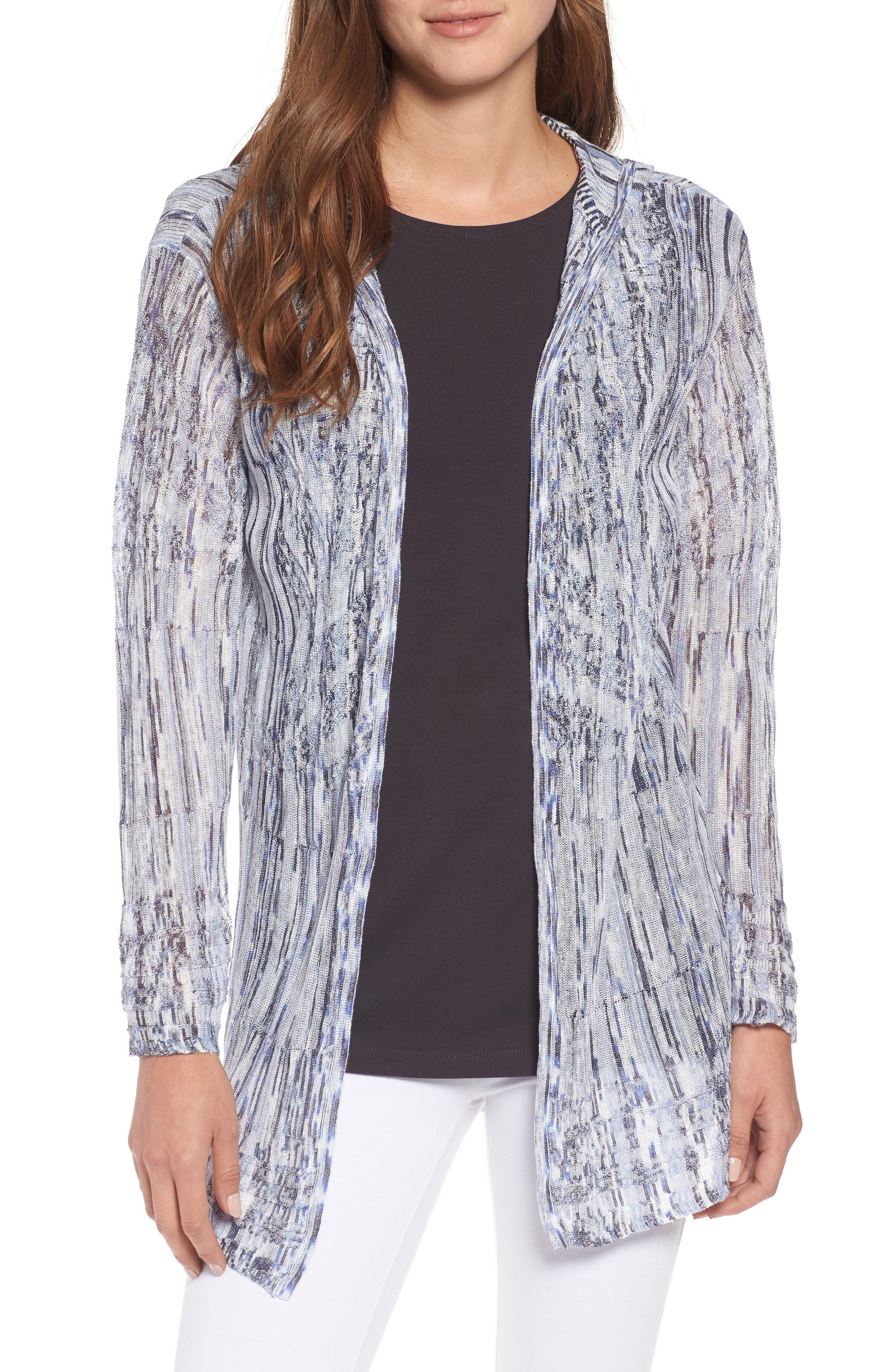 New Frontier Hooded Cardigan,                         Main,                         color, Multi