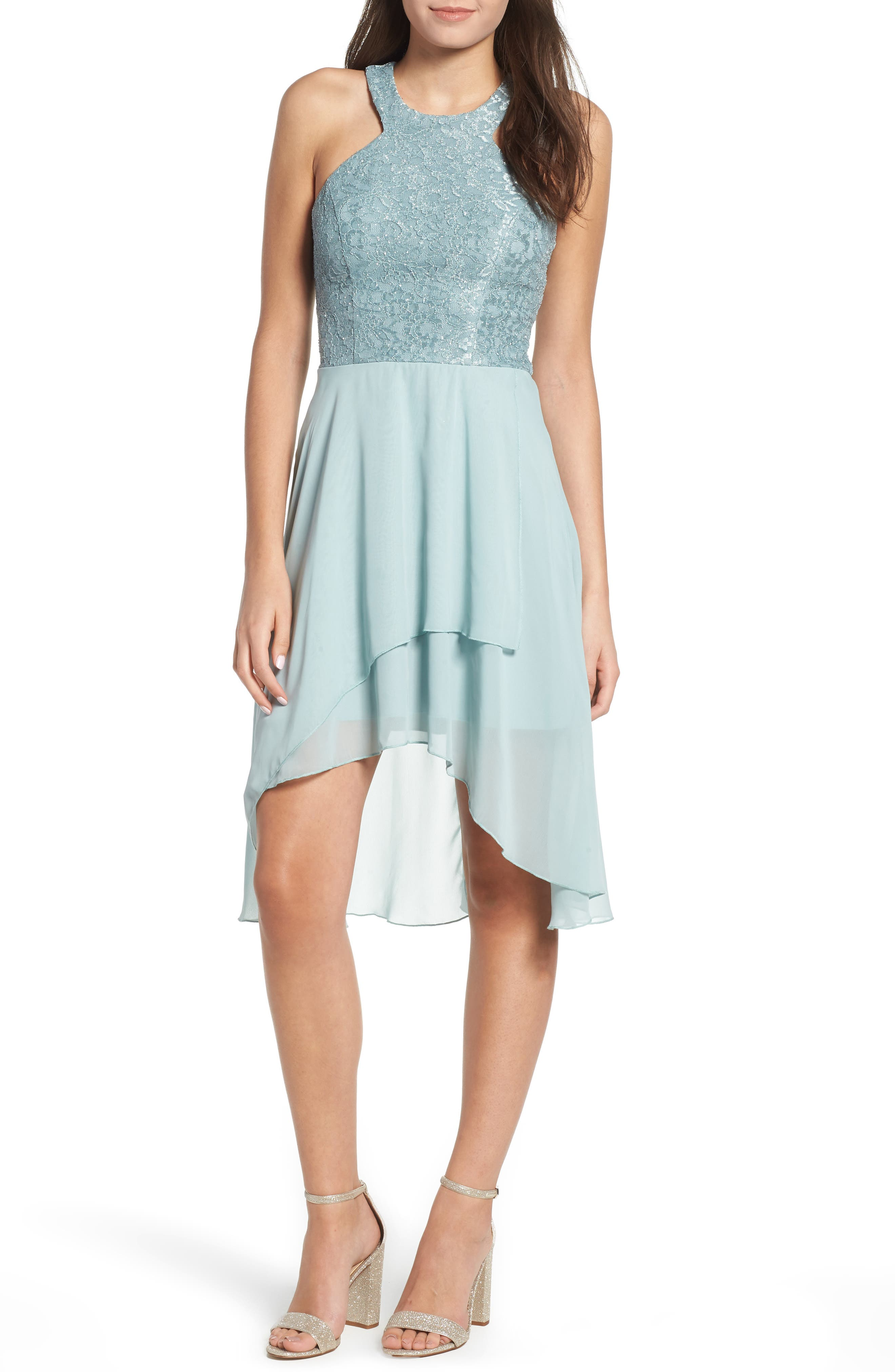 Lace High/Low Dress by Speechless