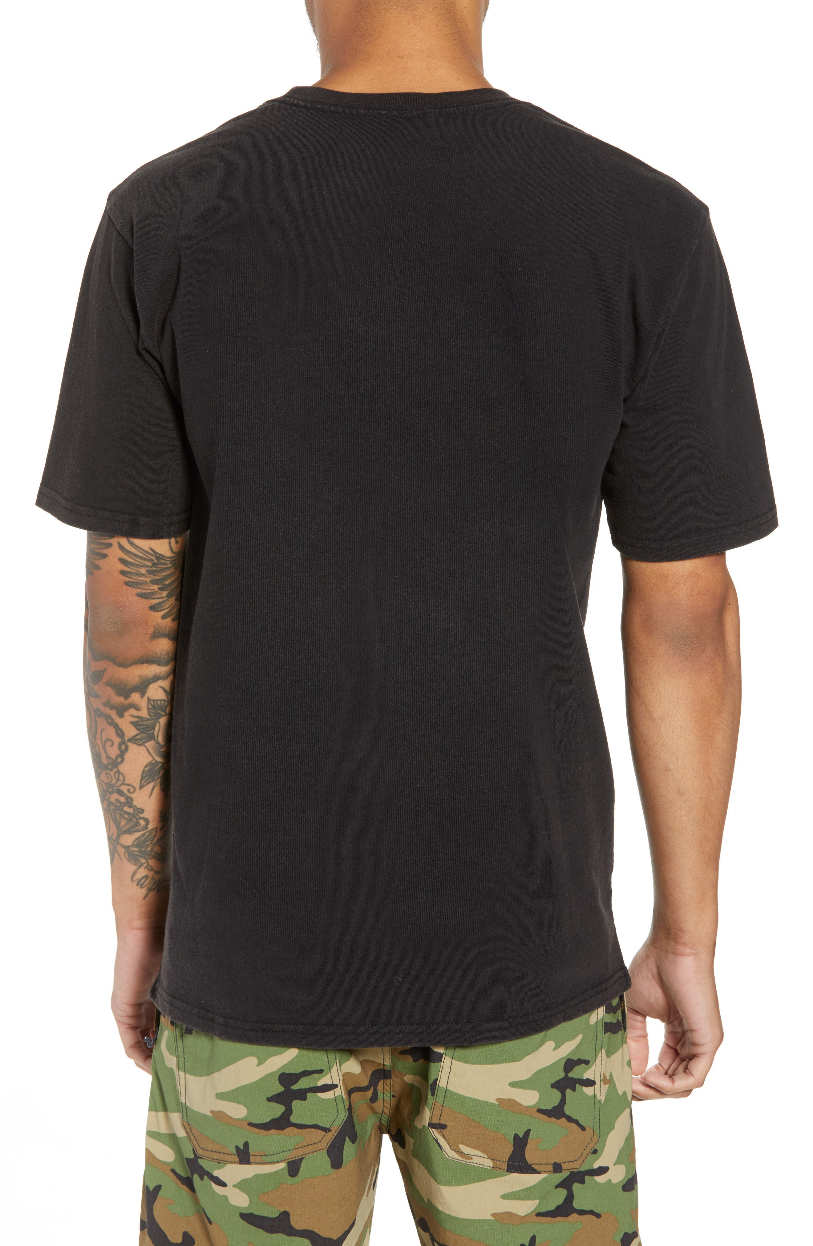Rival II Graphic T-Shirt,                             Alternate thumbnail 2, color,                             Black/ White/ White