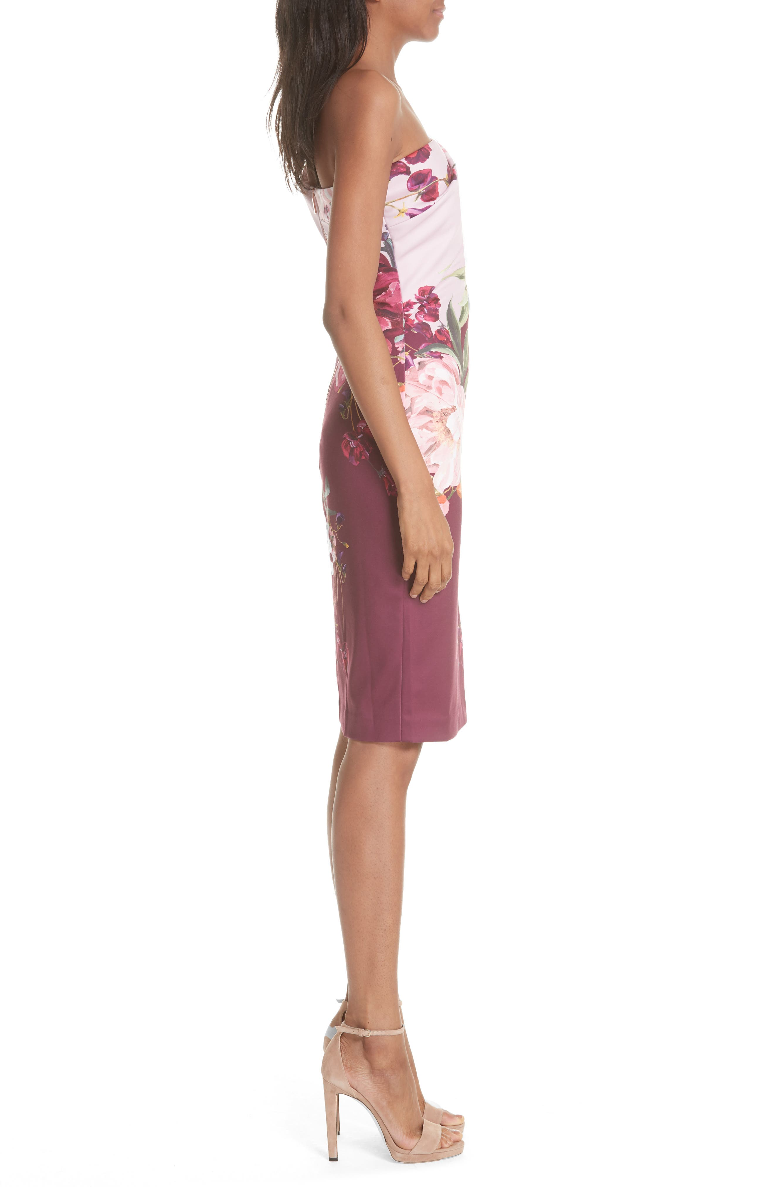 Irlina Serenity Sheath Dress,                             Alternate thumbnail 3, color,                             Lilac