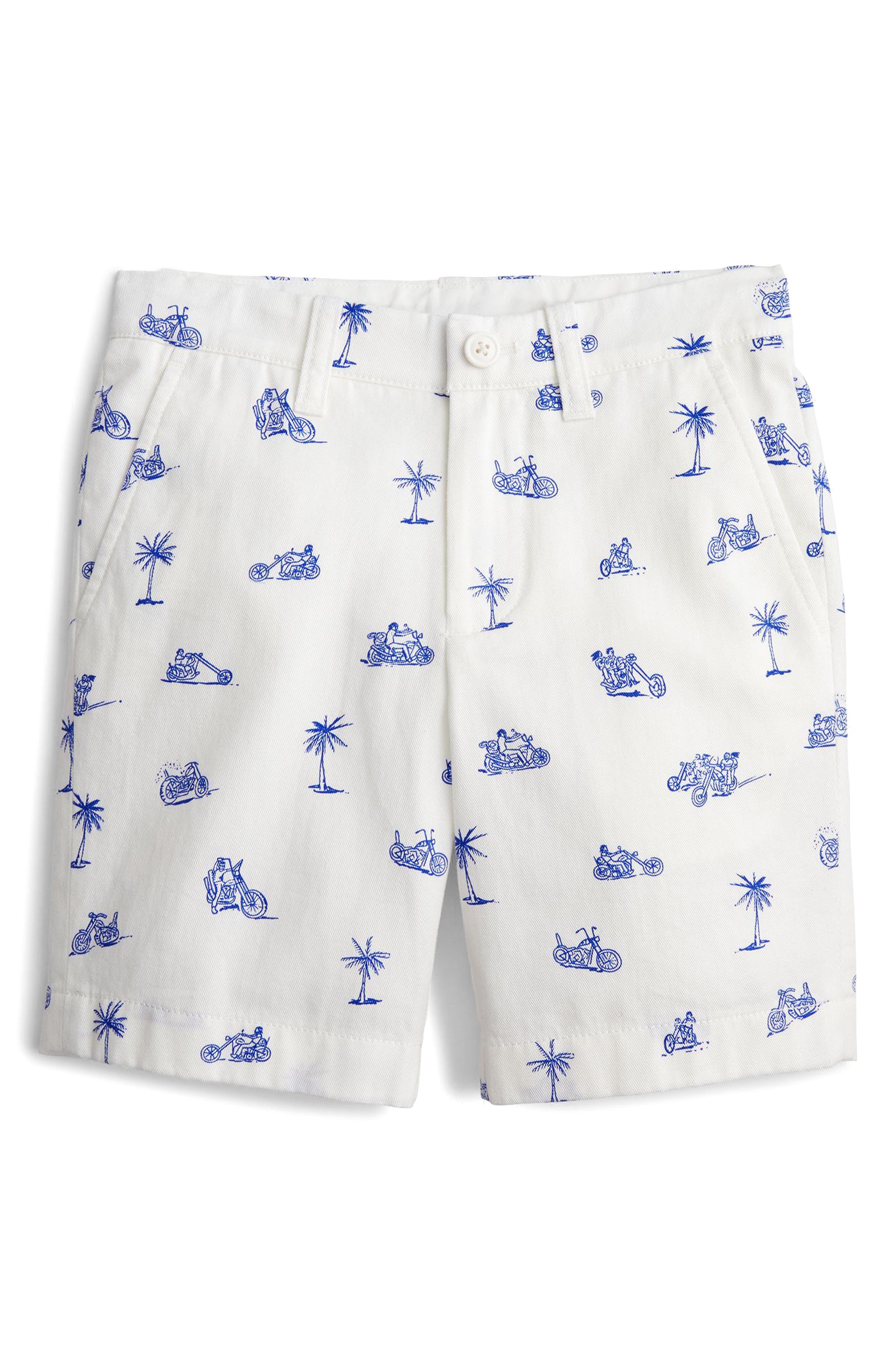 Stanton Cruisin Print Shorts,                         Main,                         color, White