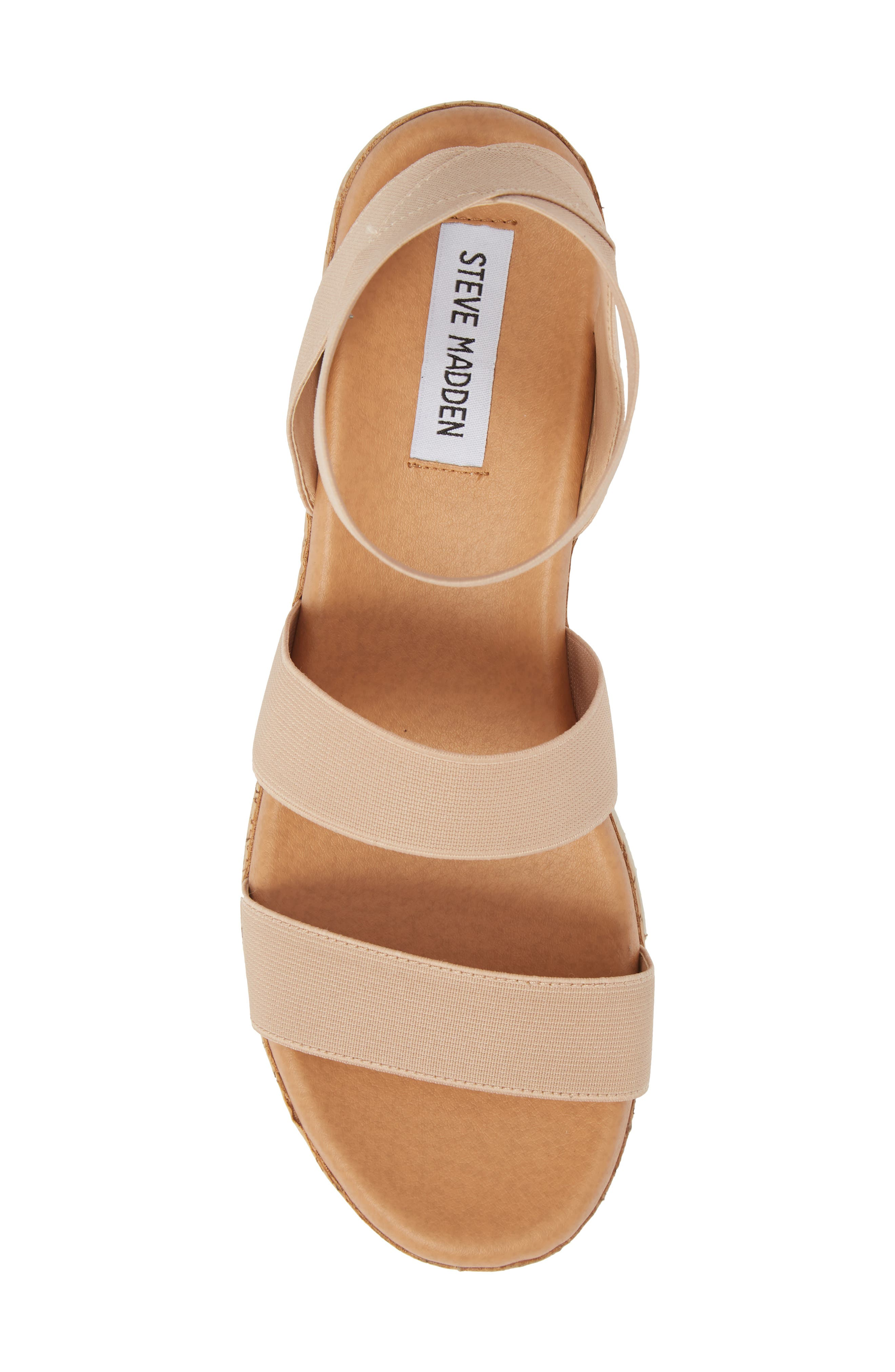 Bandi Platform Wedge Sandal,                             Alternate thumbnail 5, color,                             Blush