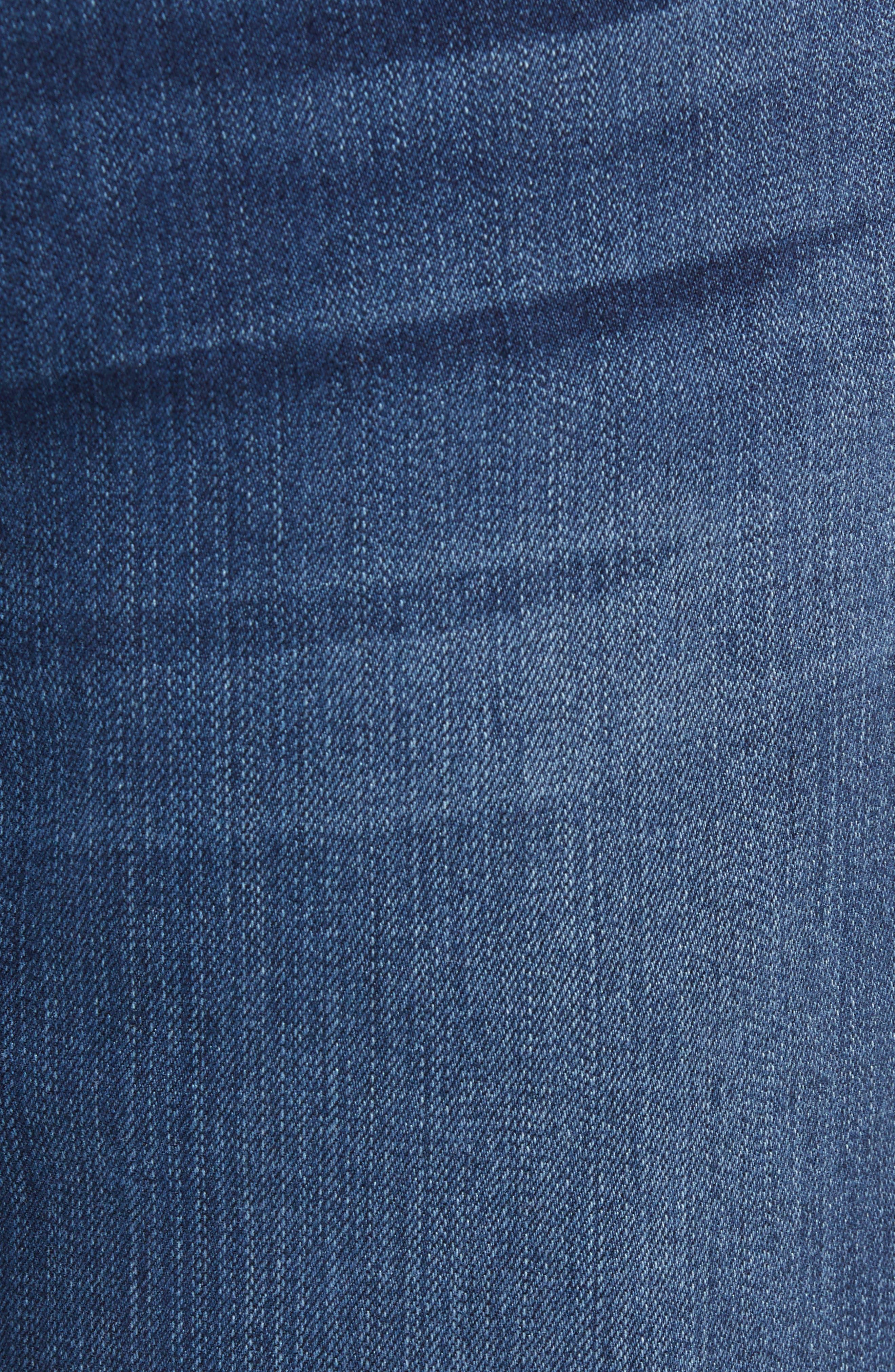 Byron Slim Straight Leg Jeans,                             Alternate thumbnail 5, color,                             Freeman