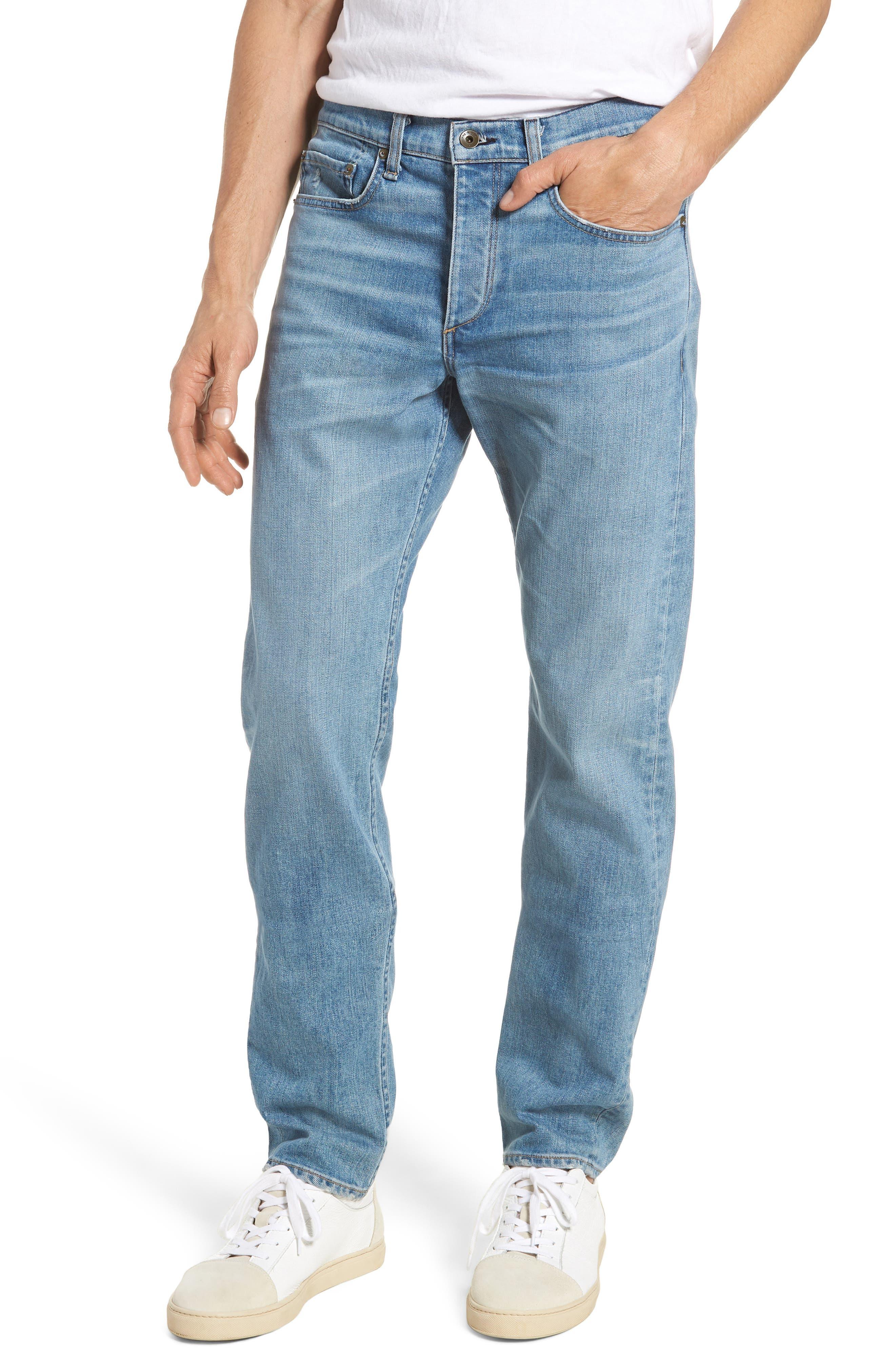 Fit 2 Slim Fit Jeans,                         Main,                         color, Pylle