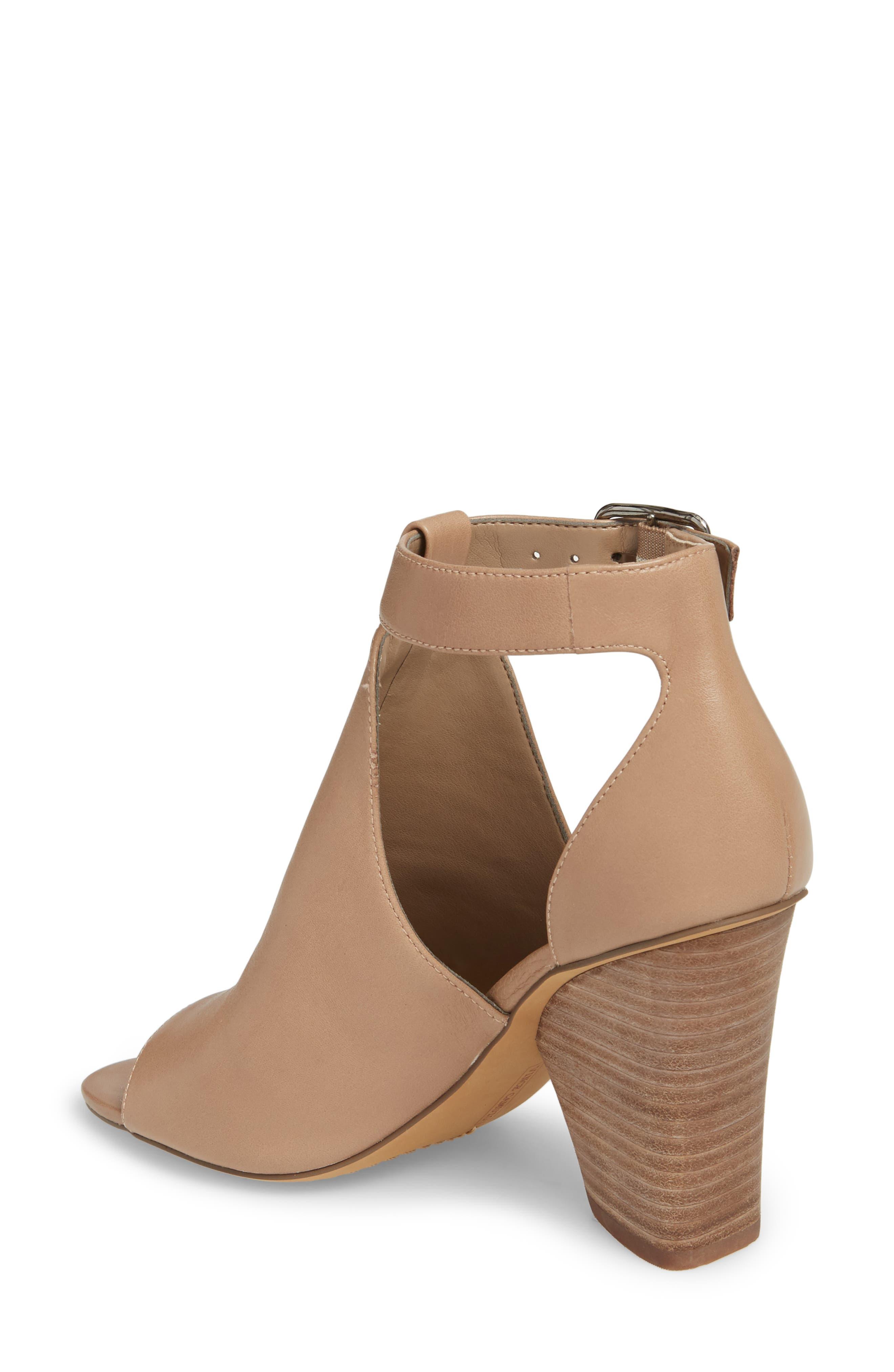 Adaren Peep Toe Sandal,                             Alternate thumbnail 2, color,                             Dusty Trail Leather