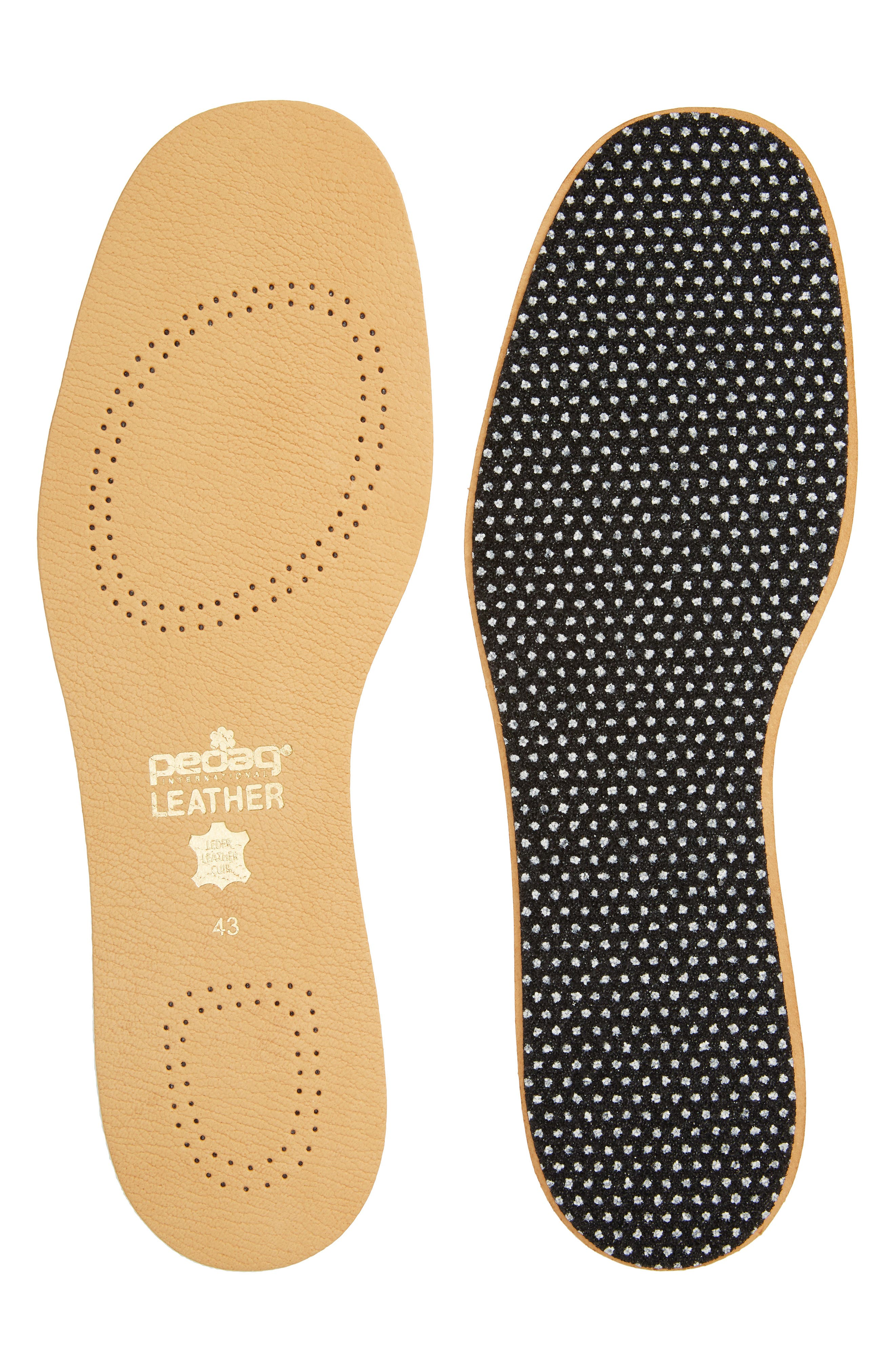 Leather Insole,                             Main thumbnail 1, color,                             Tan