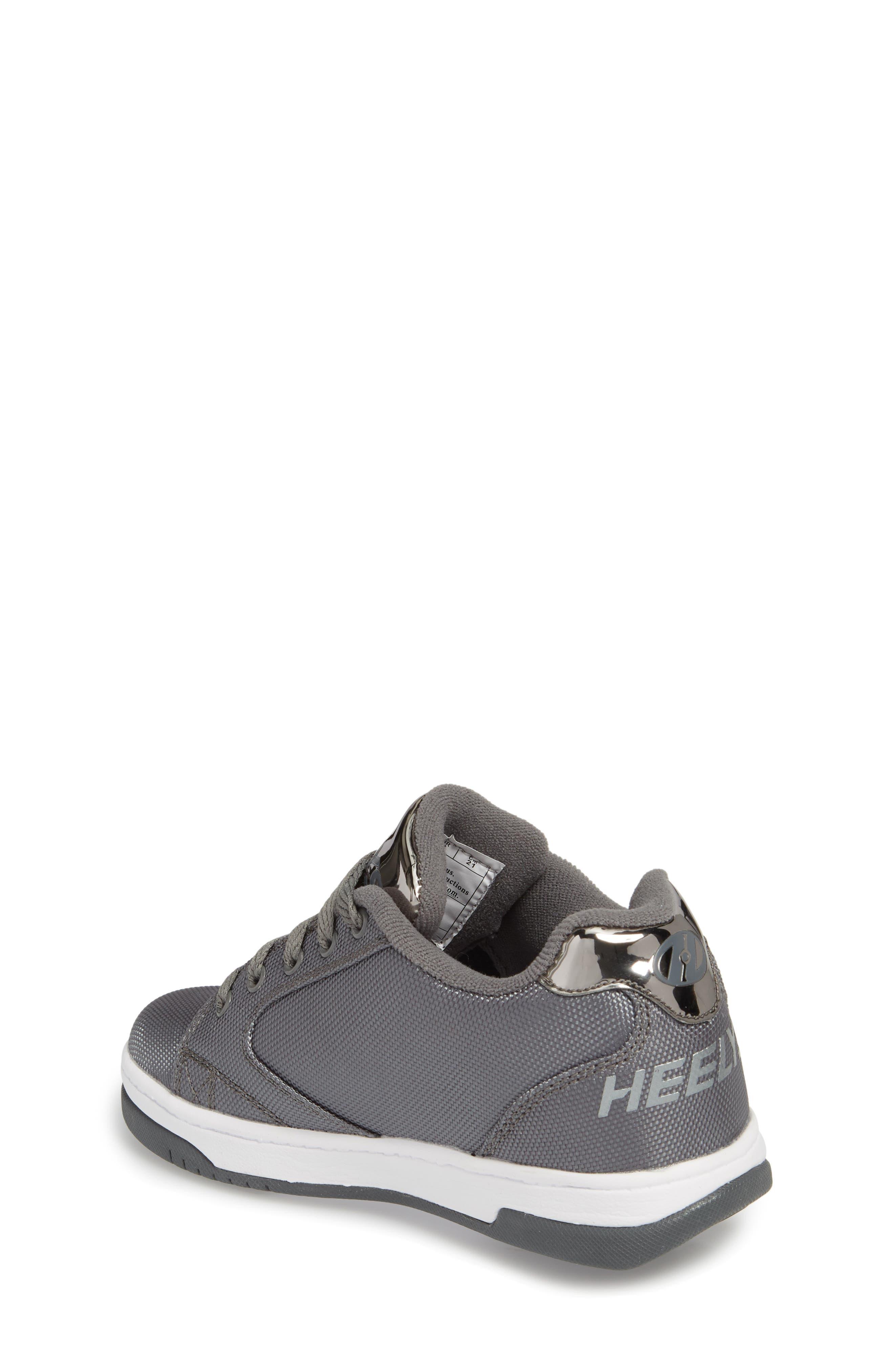 Heels Propel Ballistic Sneaker,                             Alternate thumbnail 2, color,                             Charcoal/ Pewter