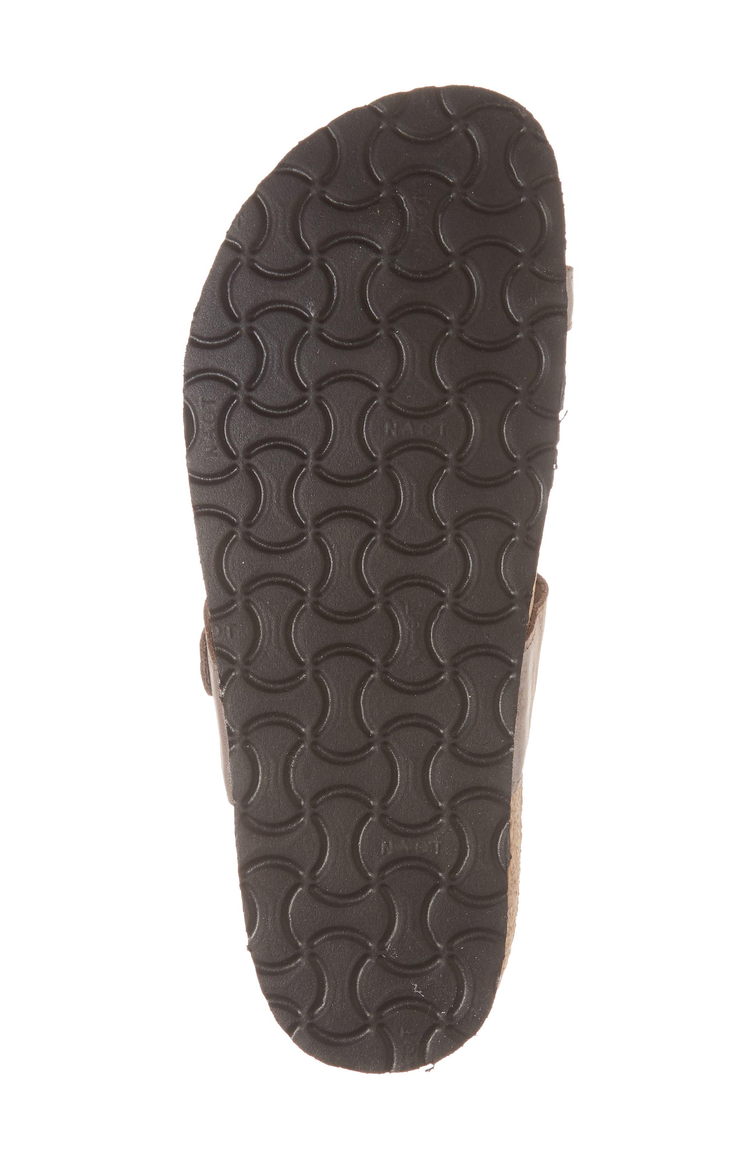 'Tahoe' Sandal,                             Alternate thumbnail 6, color,                             Silver Leather