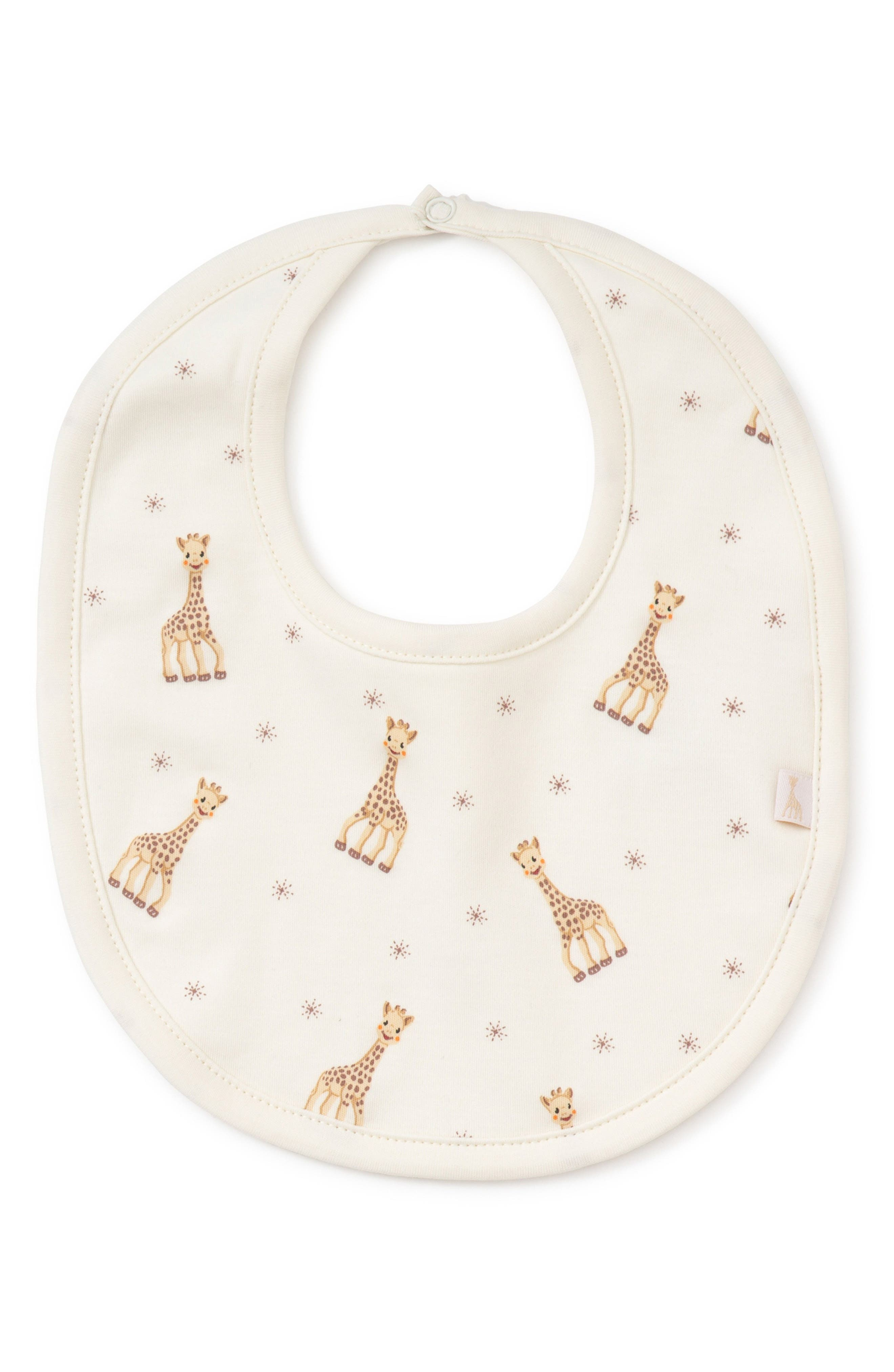 x Sophie la Girafe Bib,                         Main,                         color, Ecru