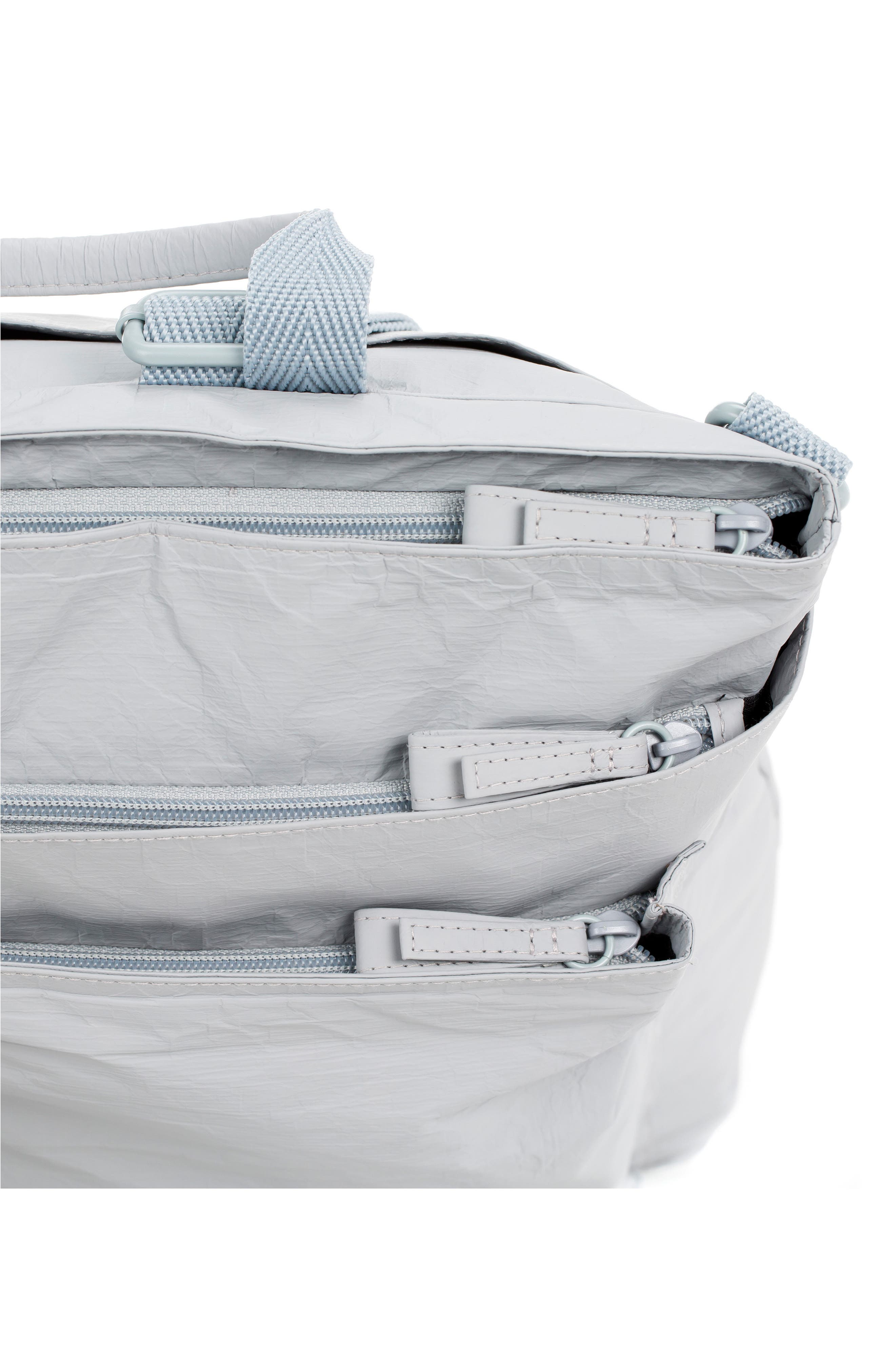 The Green Label Tyve Diaper Backpack,                             Alternate thumbnail 3, color,                             Grey
