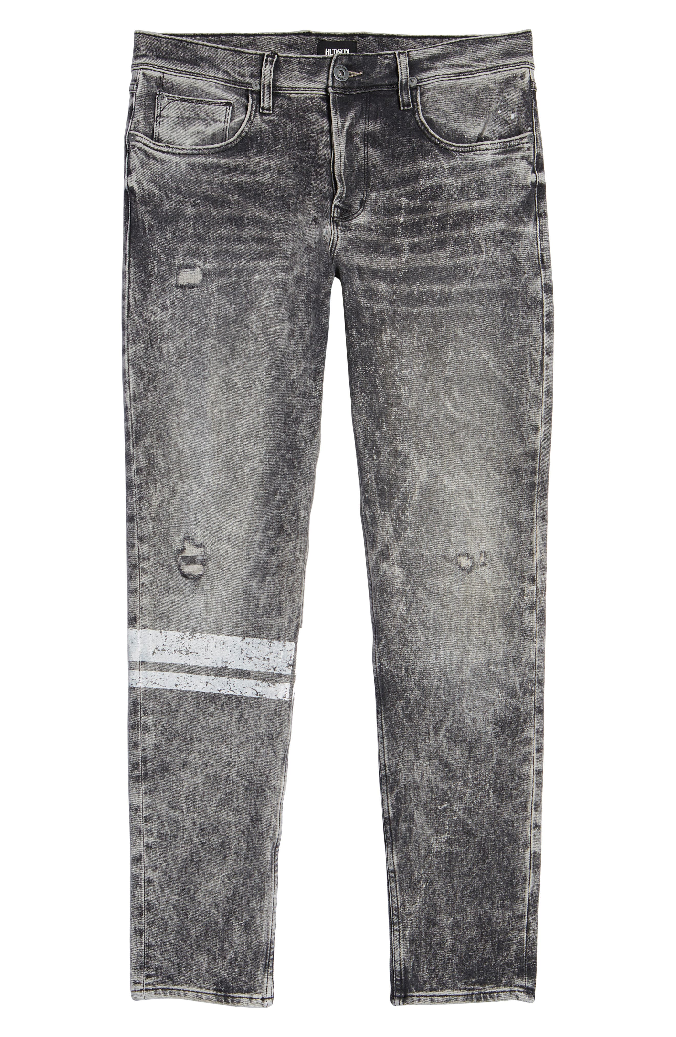 Sartor Slouchy Skinny Fit Jeans,                             Alternate thumbnail 6, color,                             Cut Copy