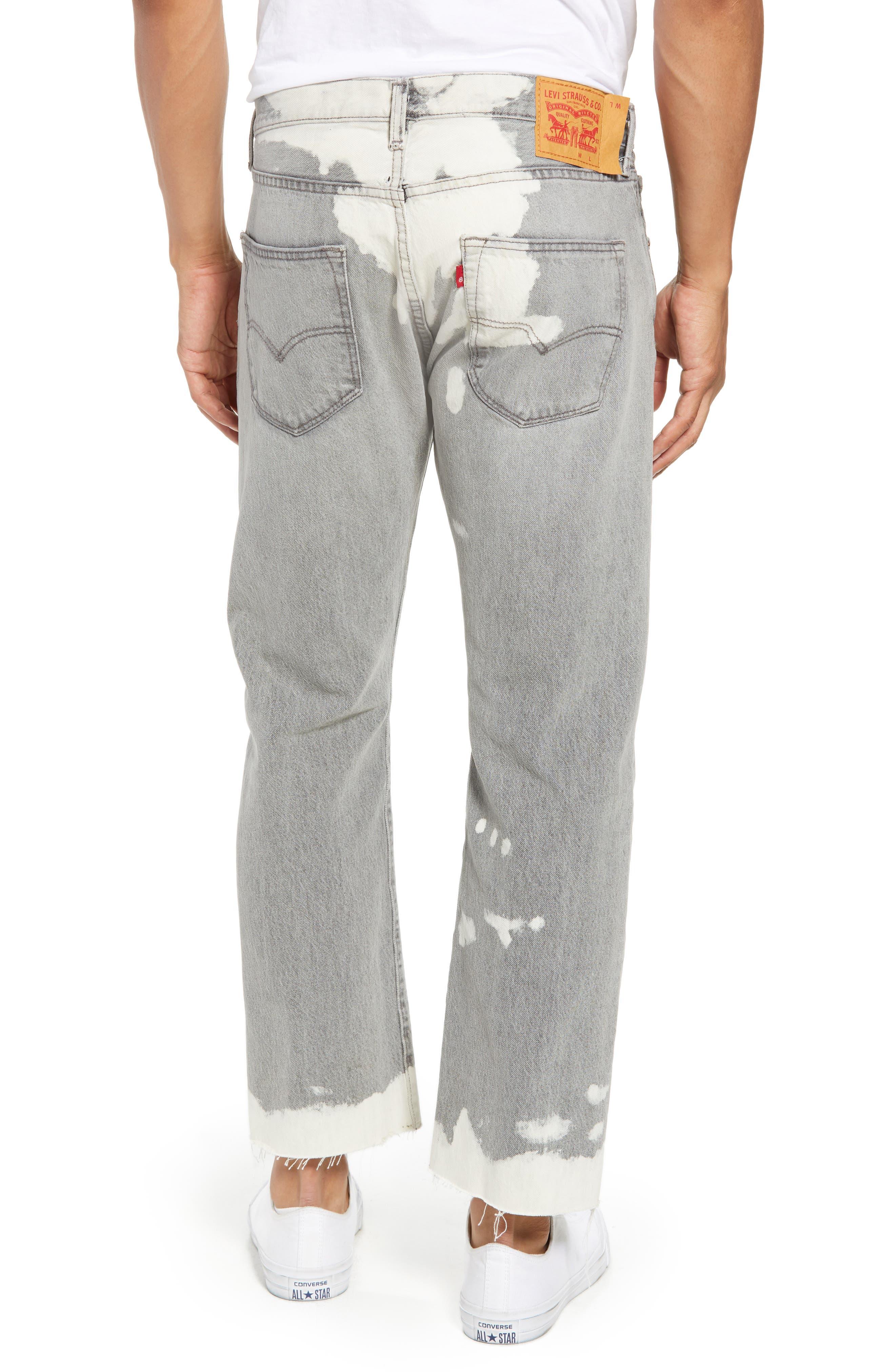 501<sup>™</sup> Straight Leg Jeans,                             Alternate thumbnail 2, color,                             Harris