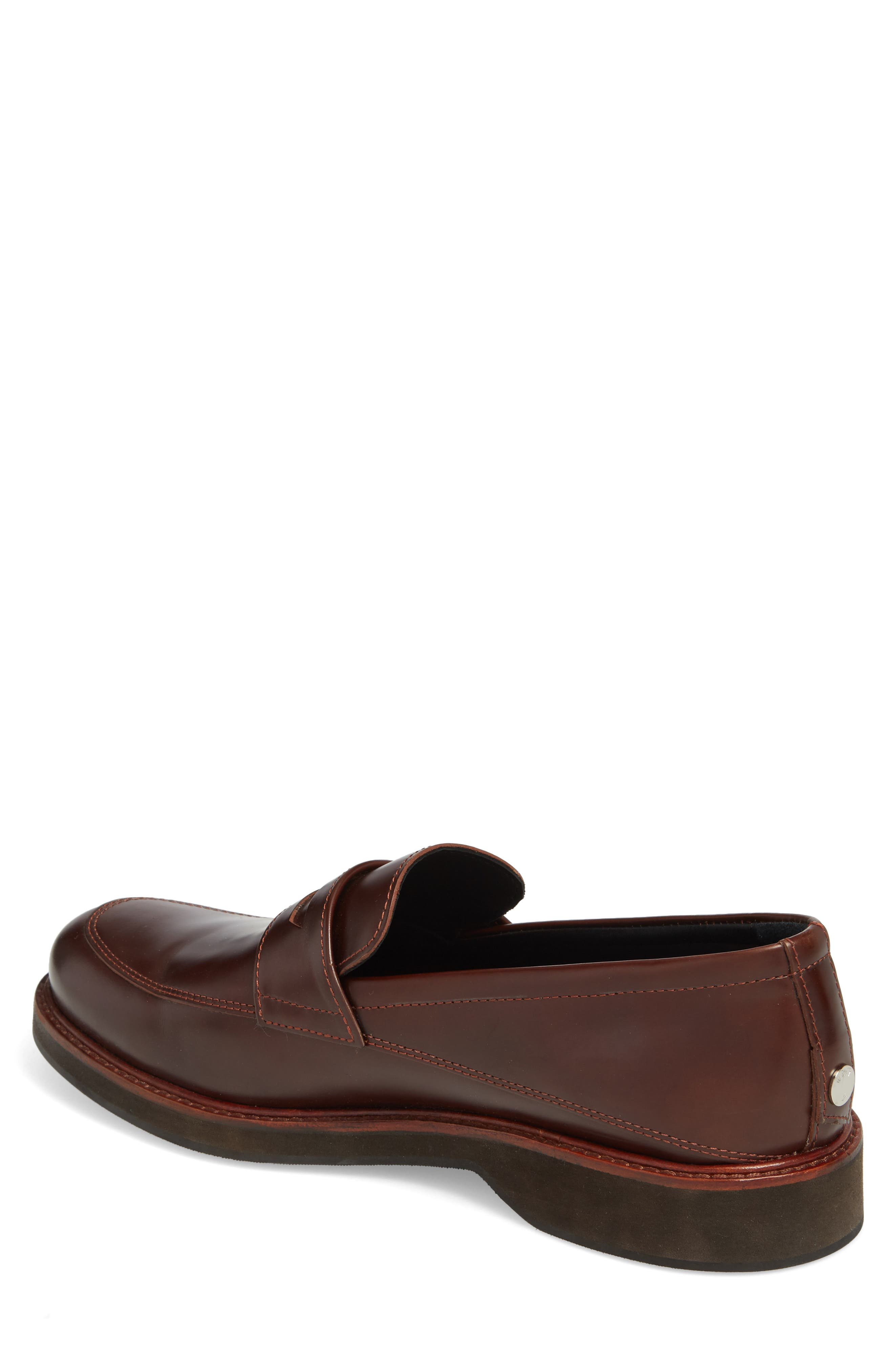 'Marcos' Loafer,                             Alternate thumbnail 2, color,                             Multi Brown/ Brown