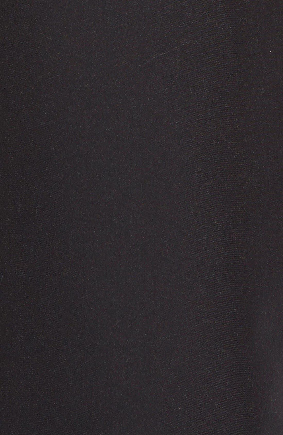 'Baja Poolside' Board Shorts,                             Alternate thumbnail 3, color,                             Black