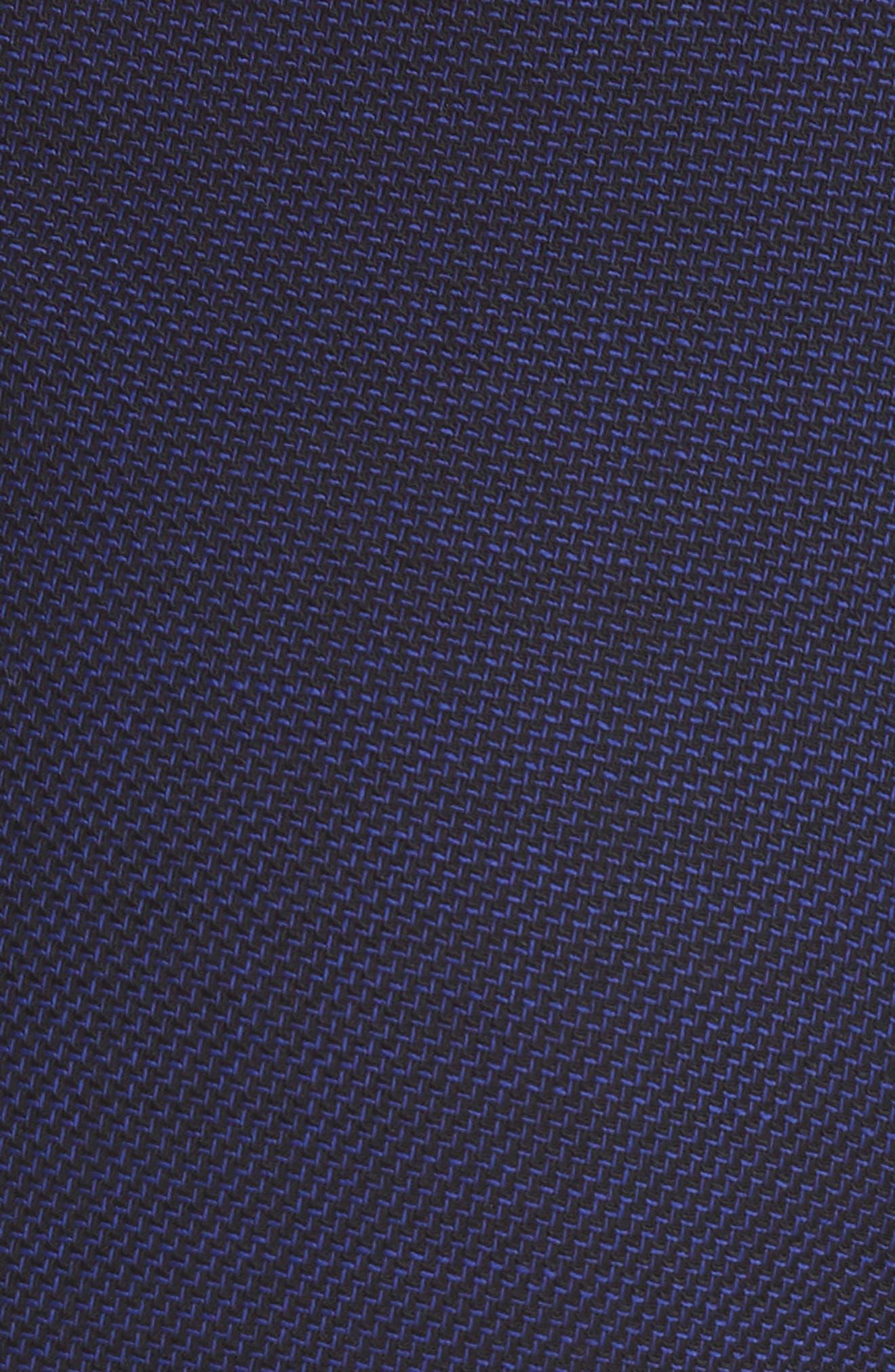 Titana Mini Glencheck Straight Leg Suit Pants,                             Alternate thumbnail 6, color,                             Deep Lilac Fantasy