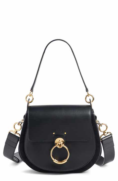 Chloé Medium Tess Calfskin Leather Shoulder Bag c66bd4fa472b2