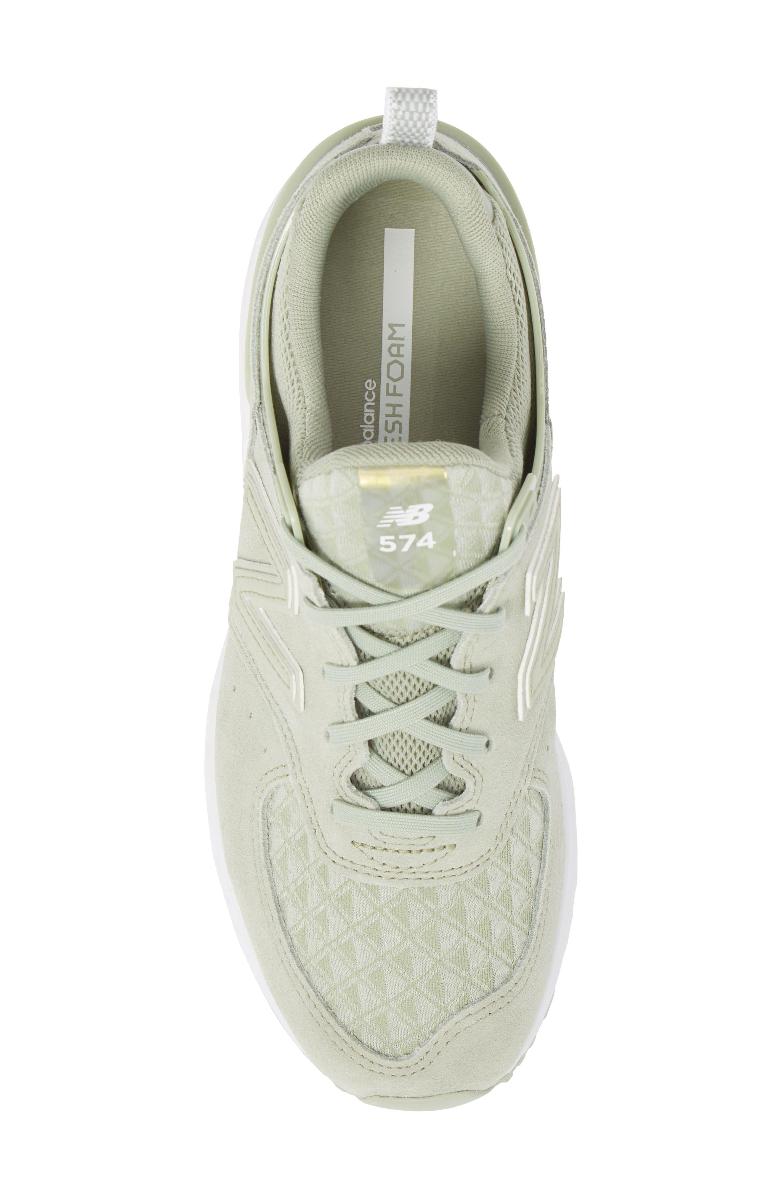 '574' Sneaker,                             Alternate thumbnail 5, color,                             Silver Mint