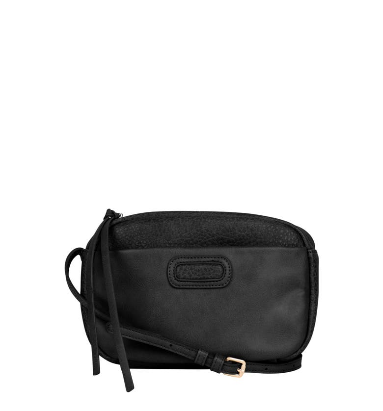 Urban Originals REBELLIOUS VEGAN LEATHER CROSSBODY BAG - BLACK