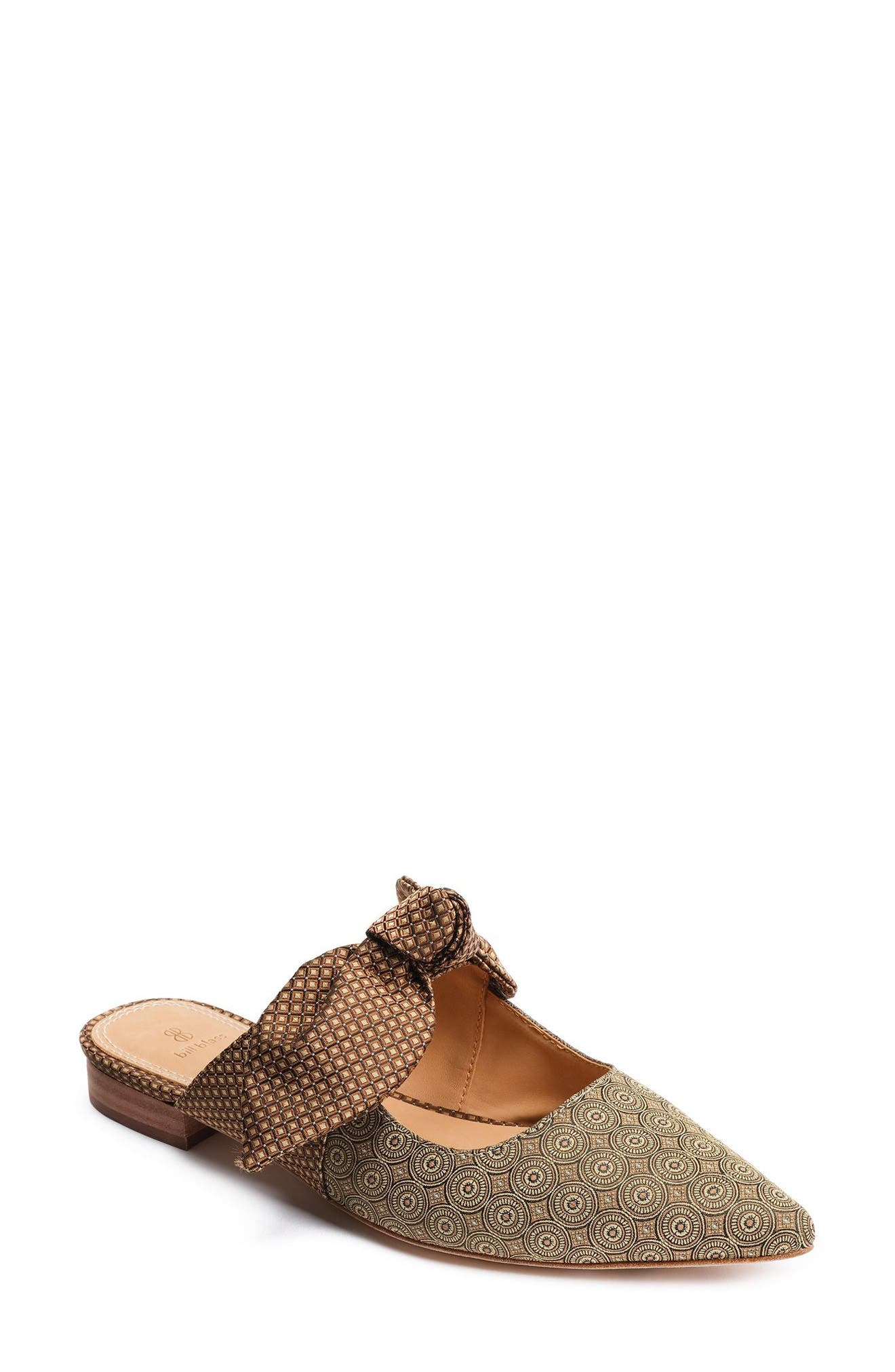 SABRINA KNOTTED MARY JANE MULE