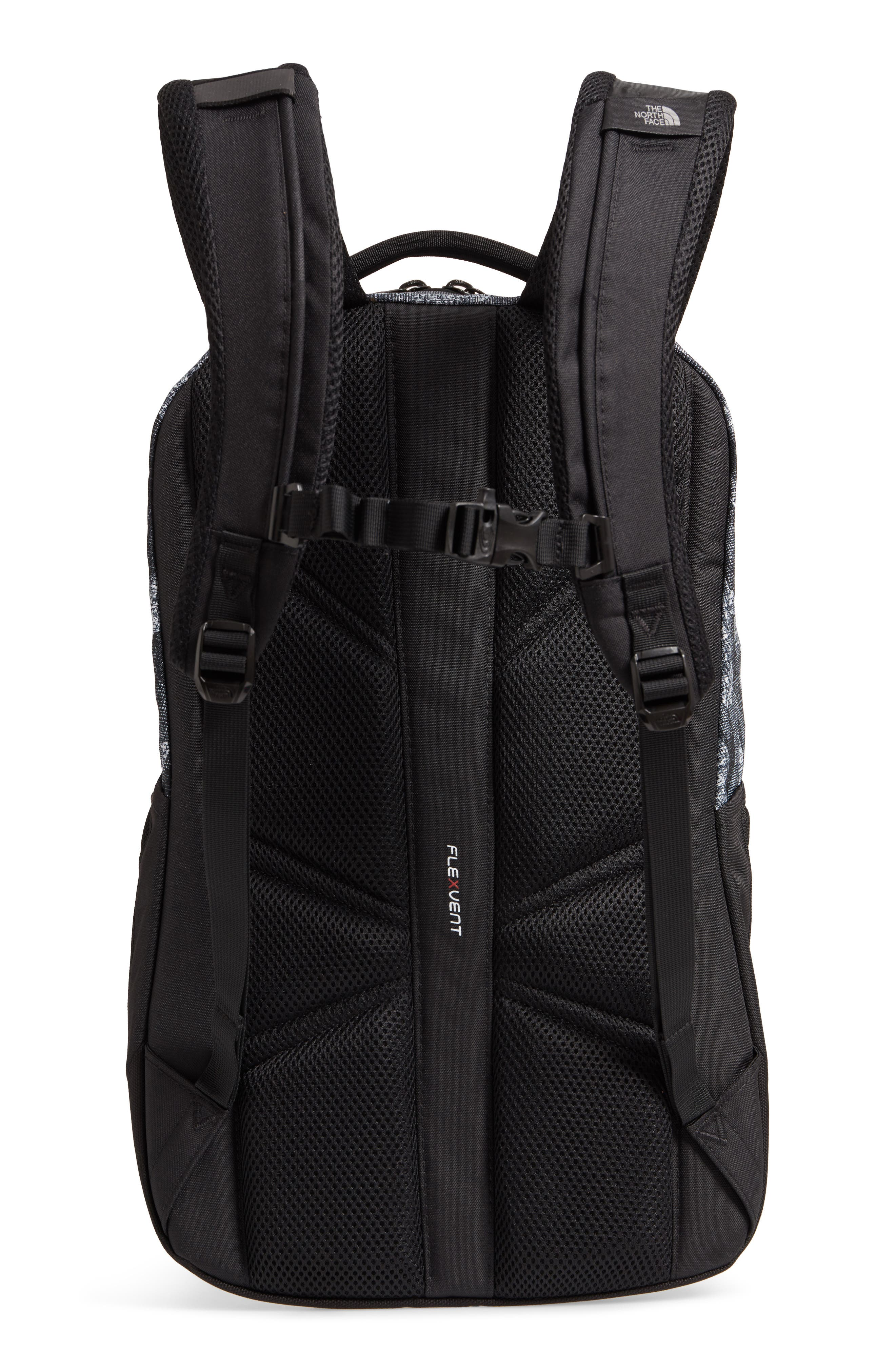 Vault Backpack,                             Alternate thumbnail 3, color,                             Tnf Black Textured Camo Print