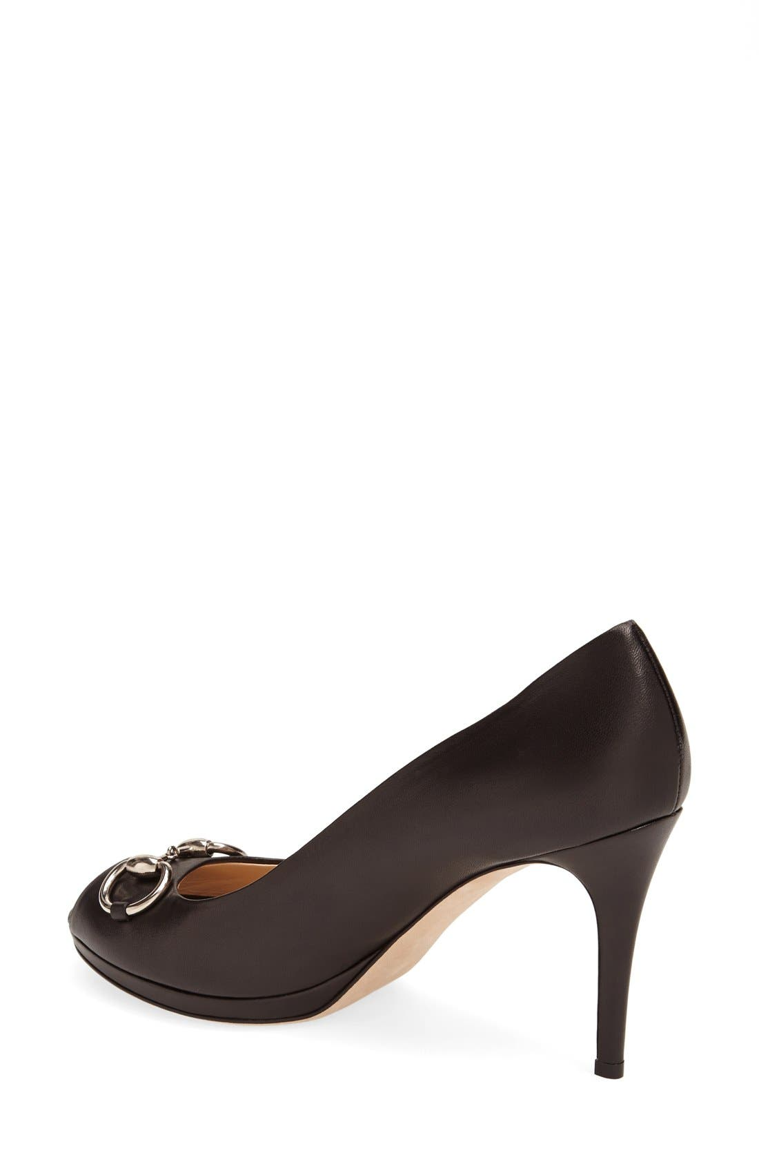 Alternate Image 2  - Gucci 'New Hollywood' Open Toe Platform Pump