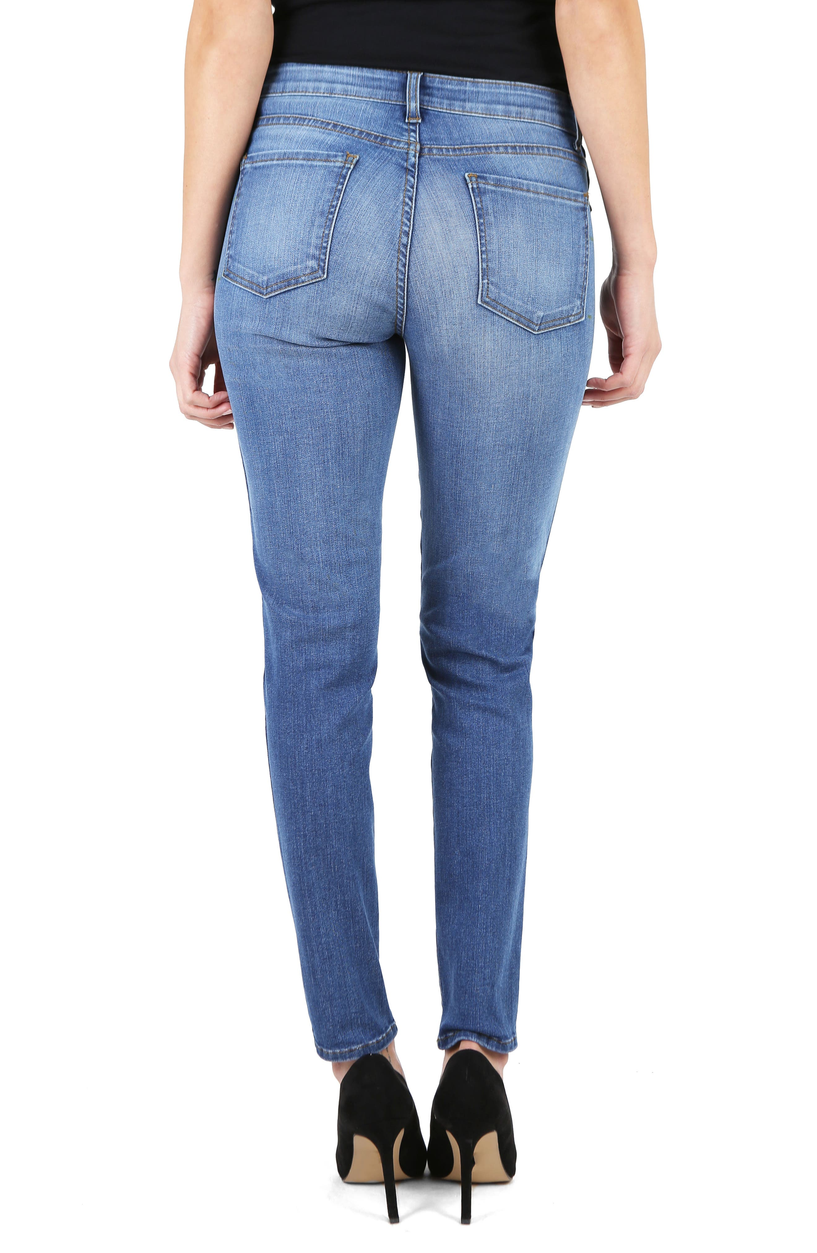 KUT from the Kloth Diana Fab Ab Fit Solution Skinny Jeans,                             Alternate thumbnail 2, color,                             Meditate