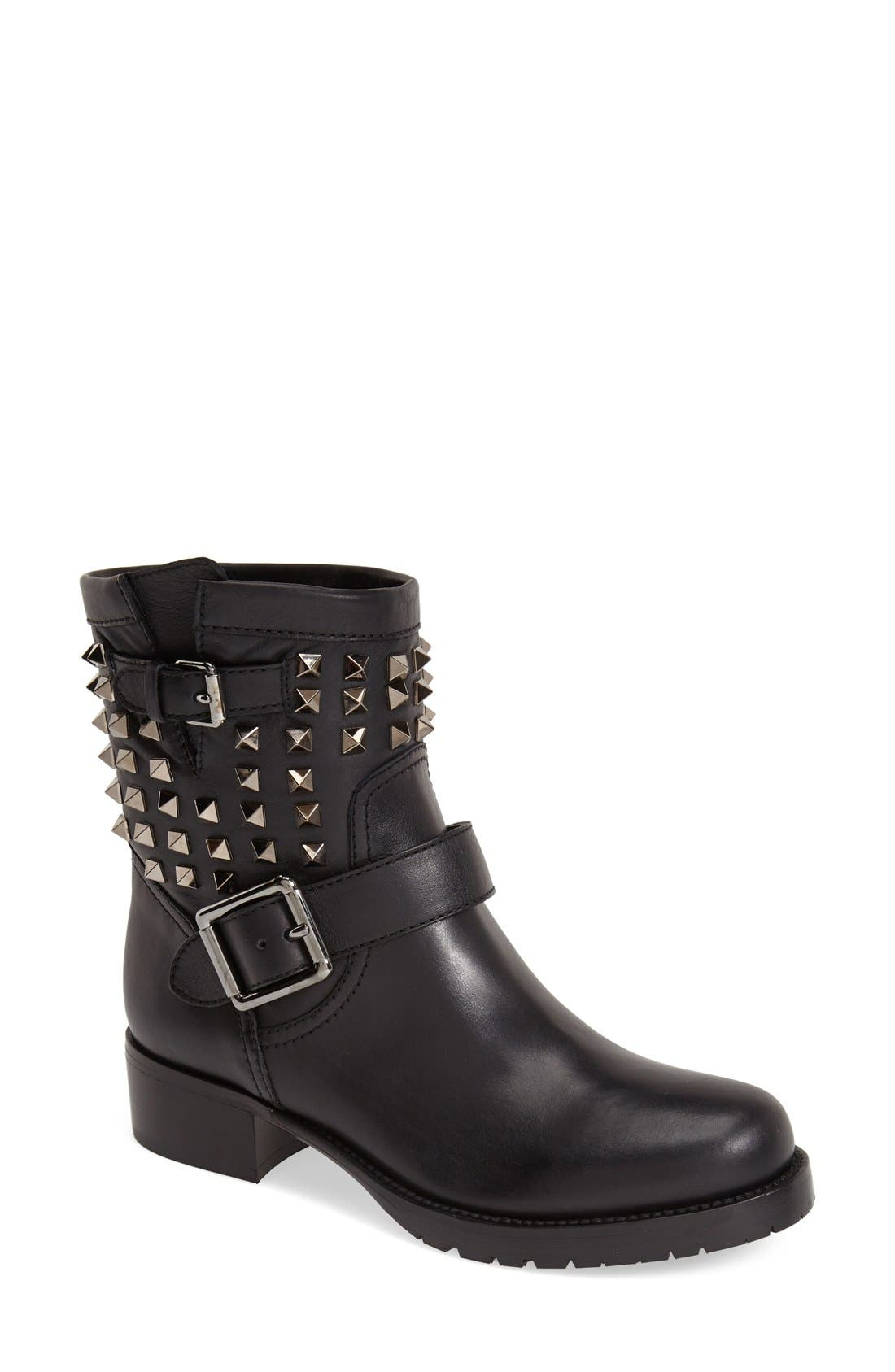 Alternate Image 1 Selected - VALENTINO GARAVANI 'Rockstud' Biker Boot