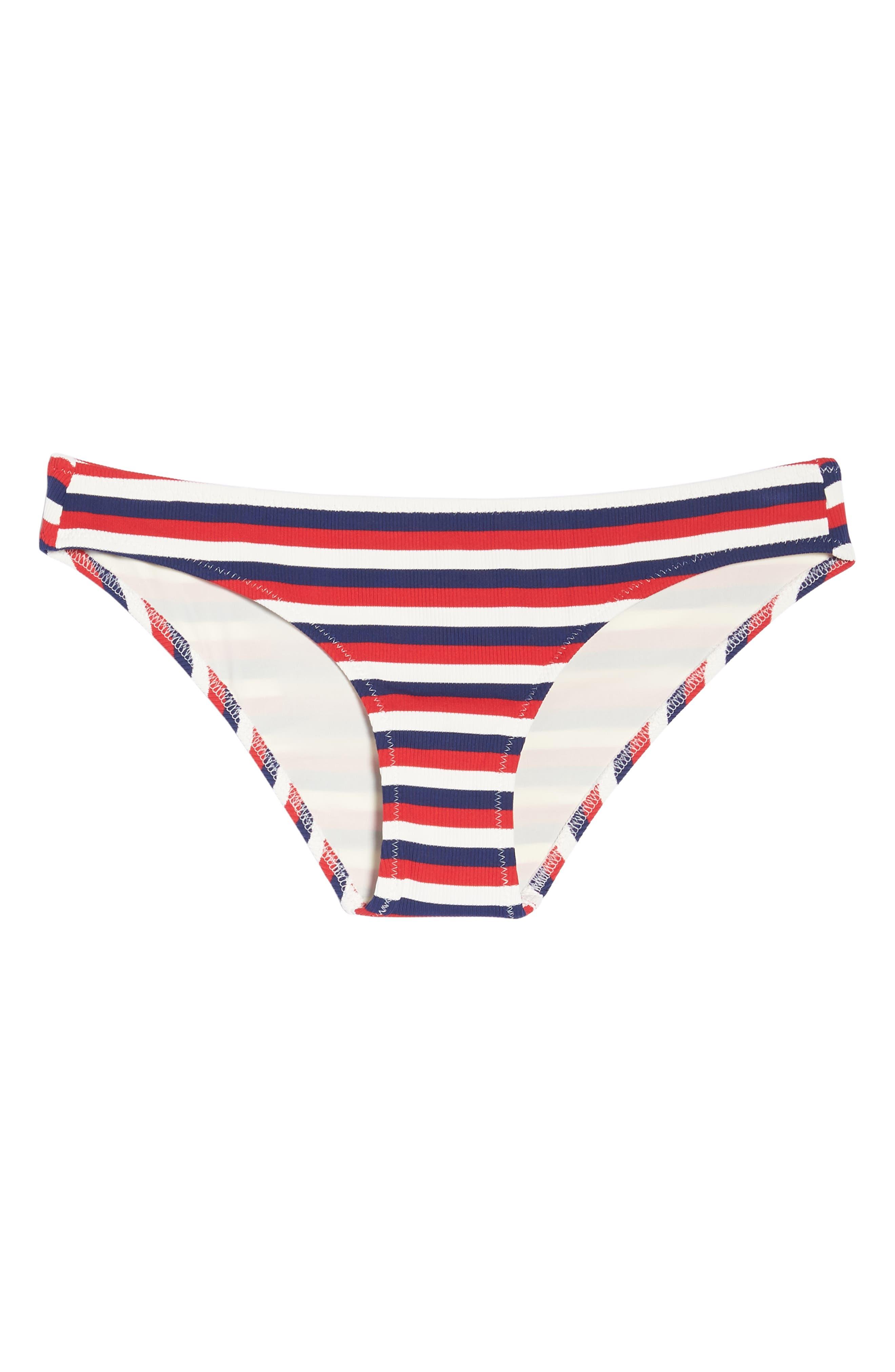 Elle Bikini Bottoms,                             Alternate thumbnail 9, color,                             American Rib