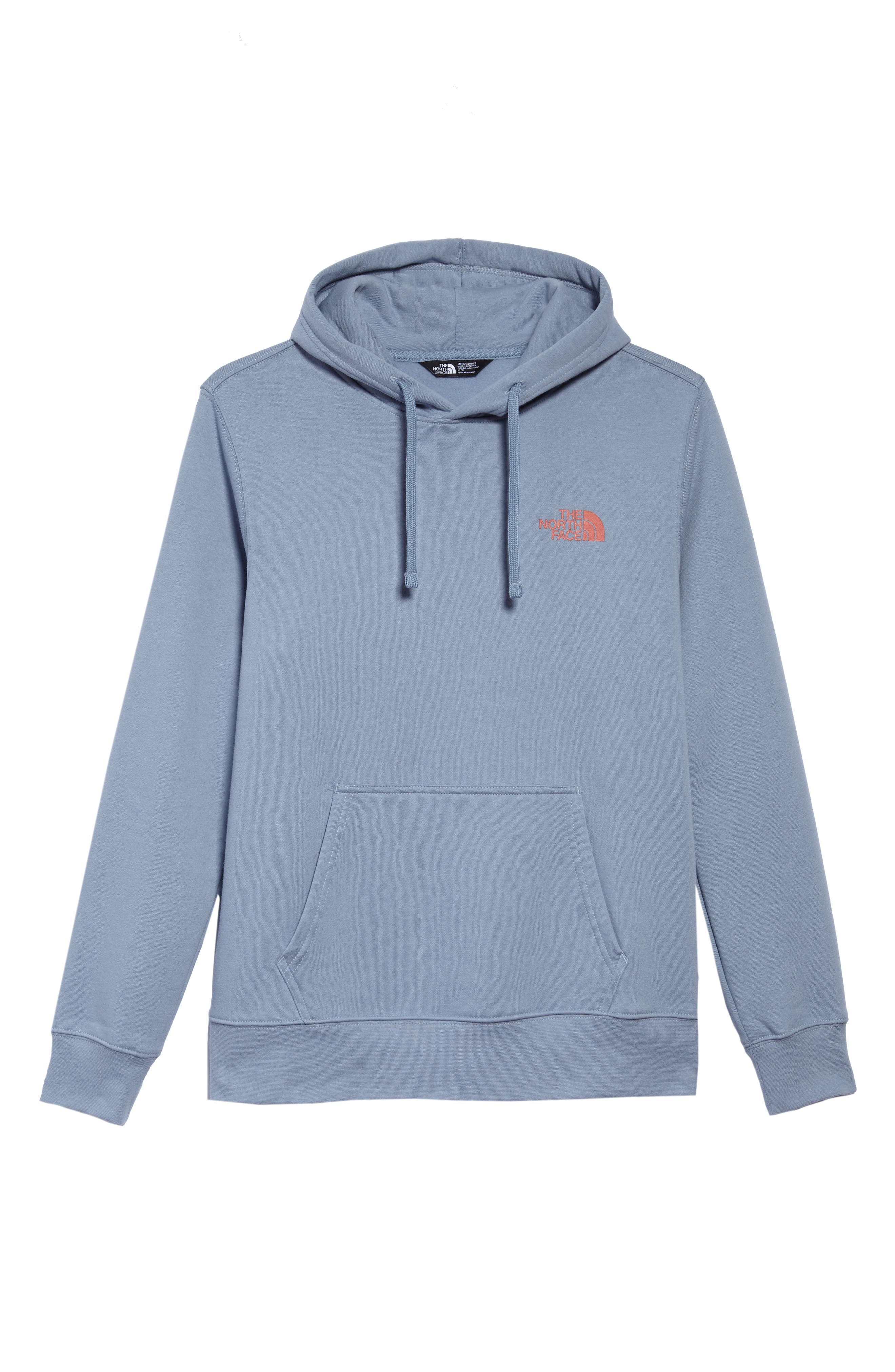 Red Box Hoodie,                             Alternate thumbnail 6, color,                             Gull Blue