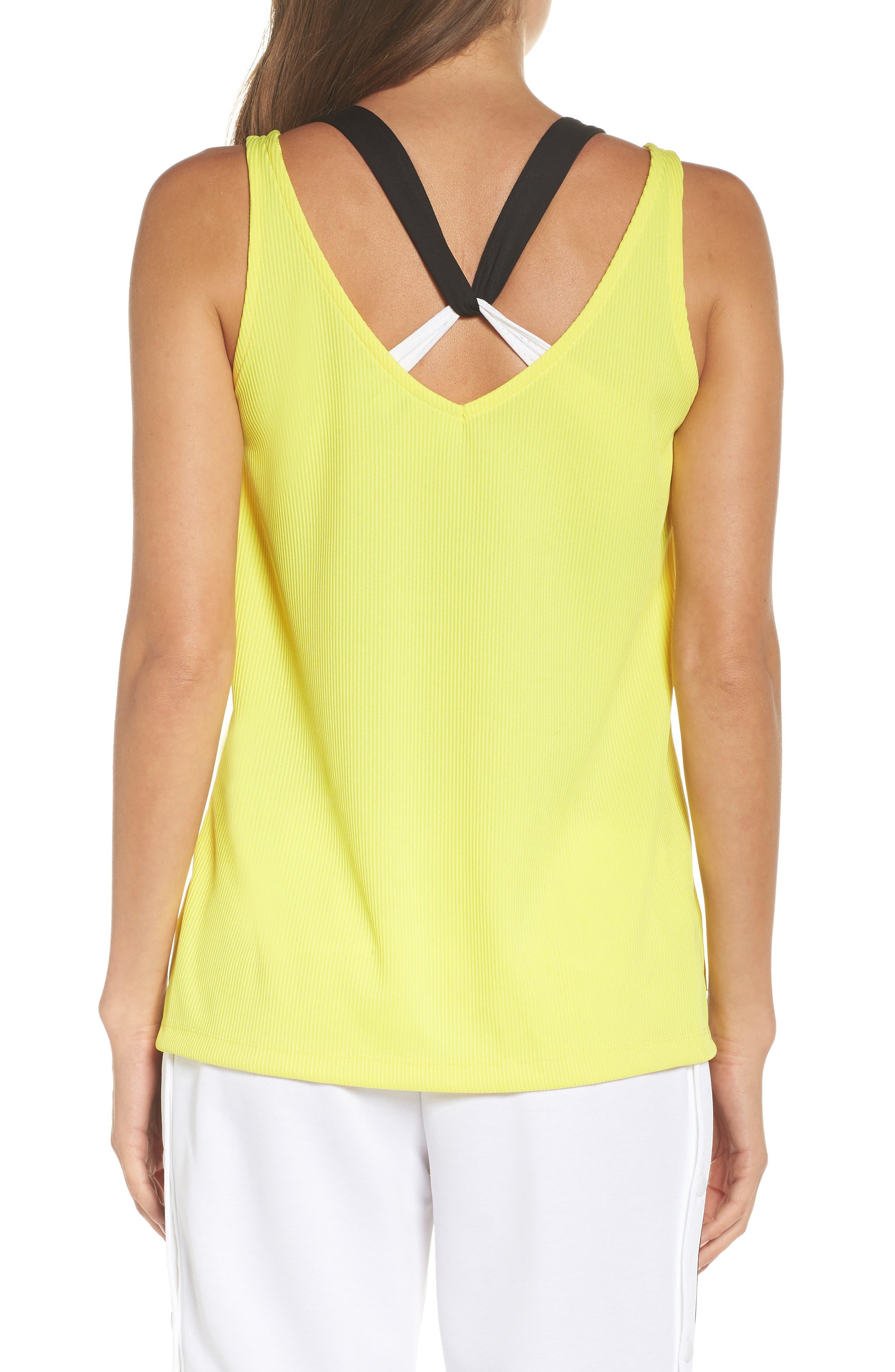 Originals Fashion League Tank,                             Alternate thumbnail 2, color,                             Prime Yellow