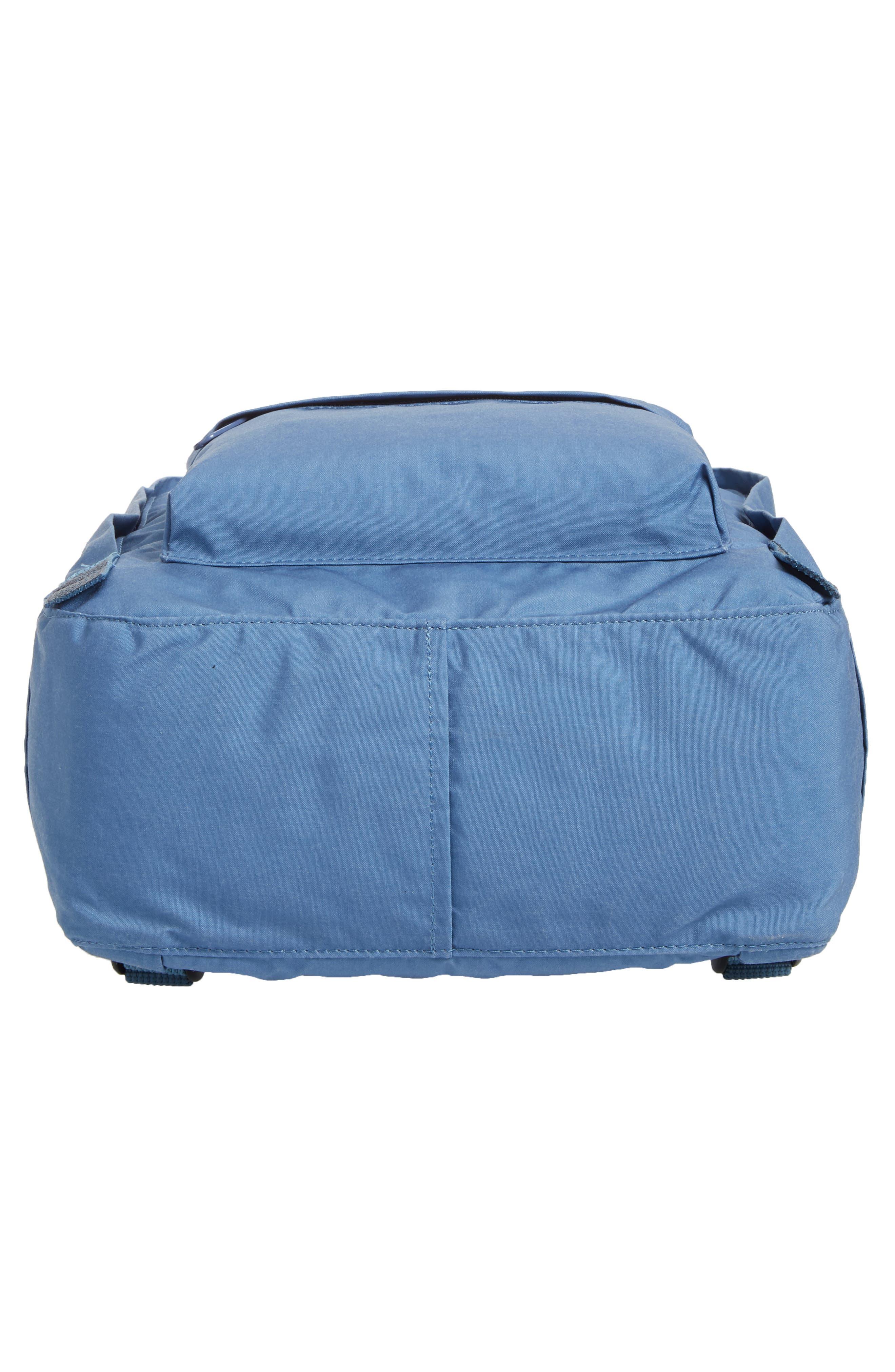 'Kånken' Water Resistant Backpack,                             Alternate thumbnail 4, color,                             Blue Ridge/ Random Blocked